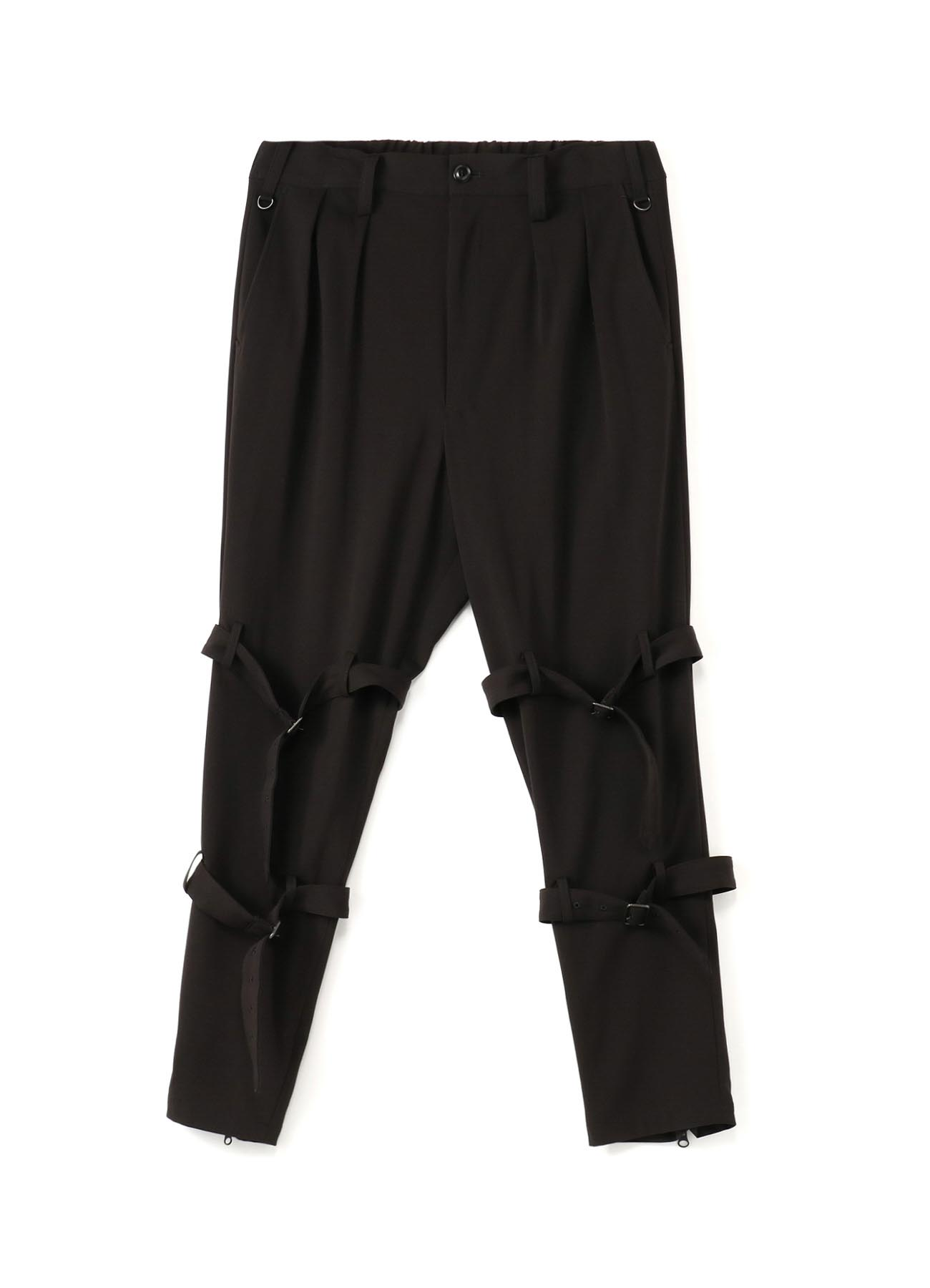 Pe/Rayon Gabardine Stretch Bandage Tapered Pants