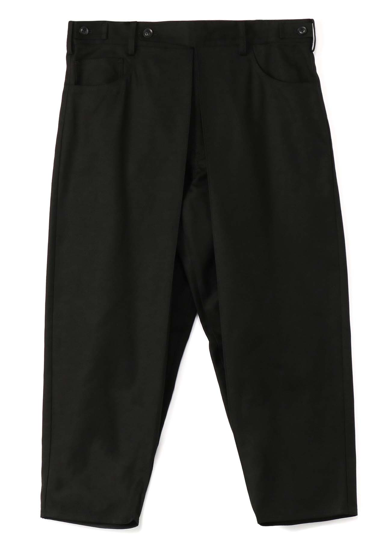 French Worker Surge Center Wide Tuck Pants