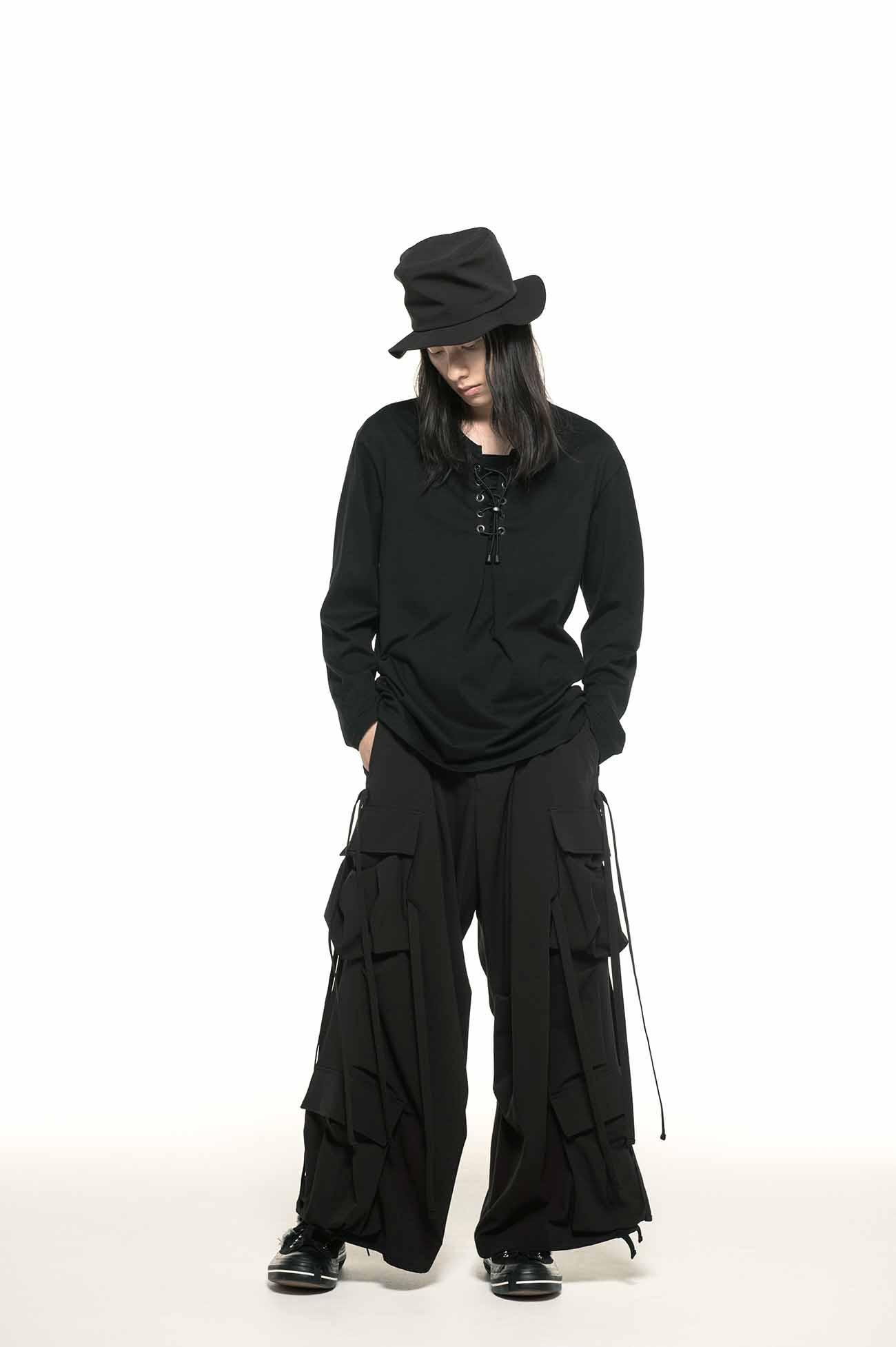 Pe/Rayon Gabardine Stretch Army Techno Pants