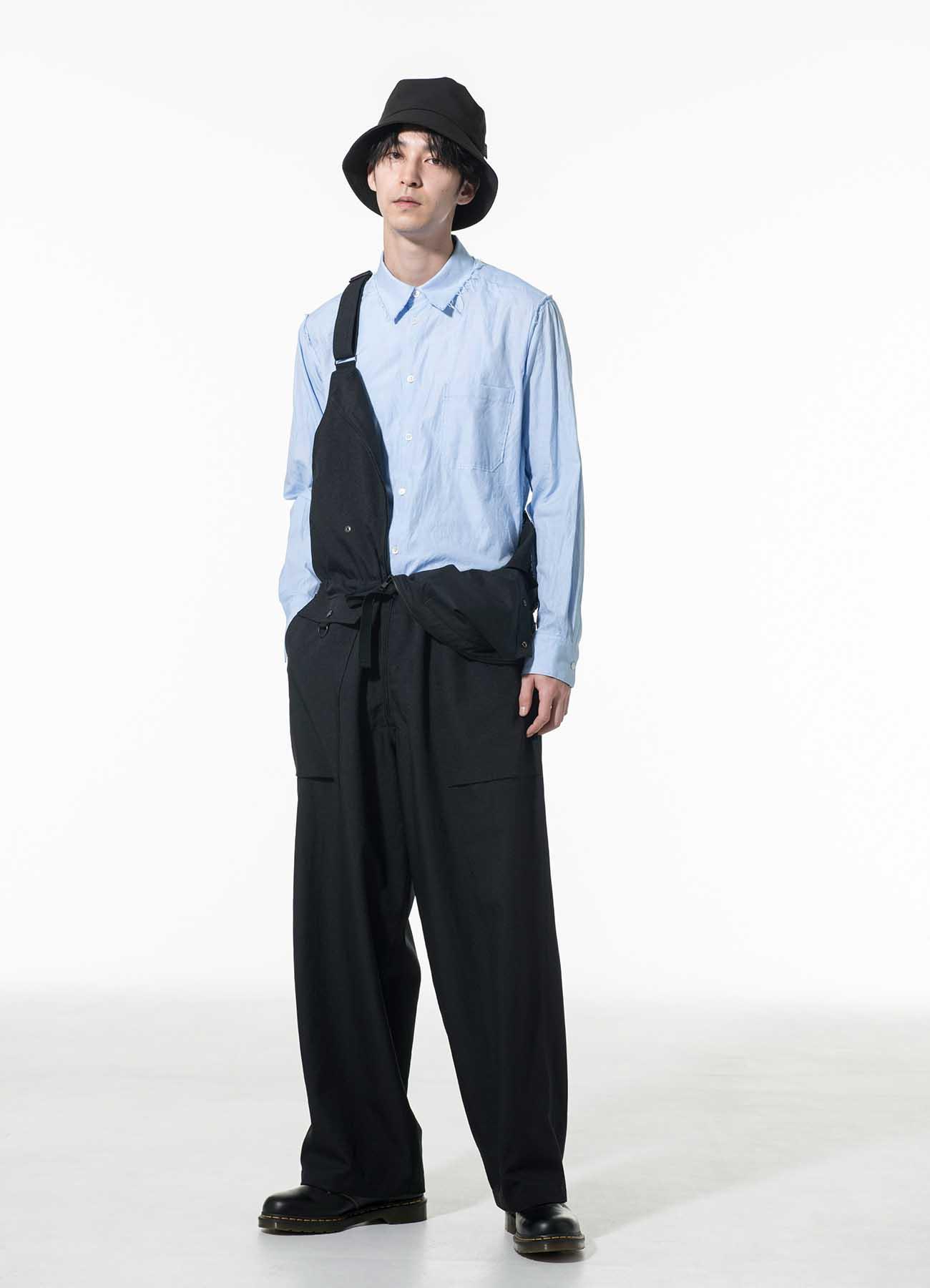 Shiwanoaru Polyester Stretch Twill Deck Pants