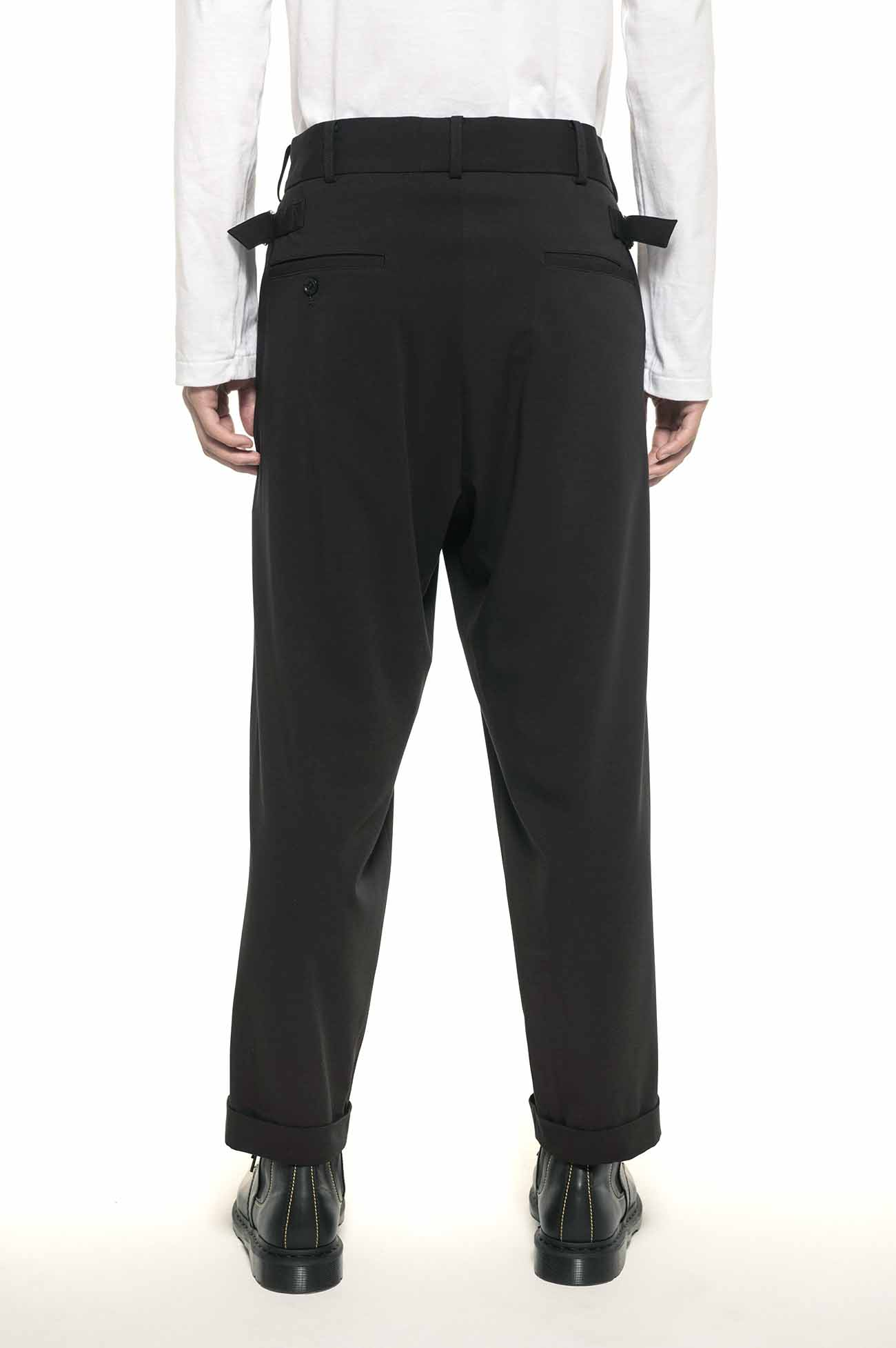 Pe/Rayon Gabardine Stretch Tapered Waist Adjustment McKin Pants