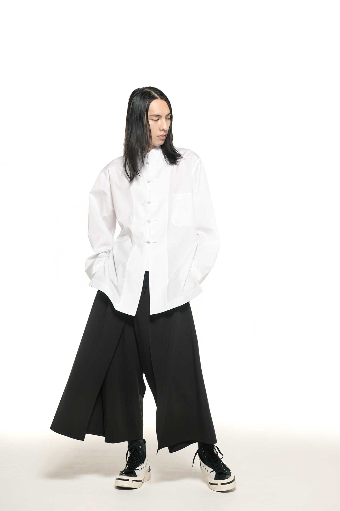 Pe/Rayon Gabardine Stretch Layer Cover Pants