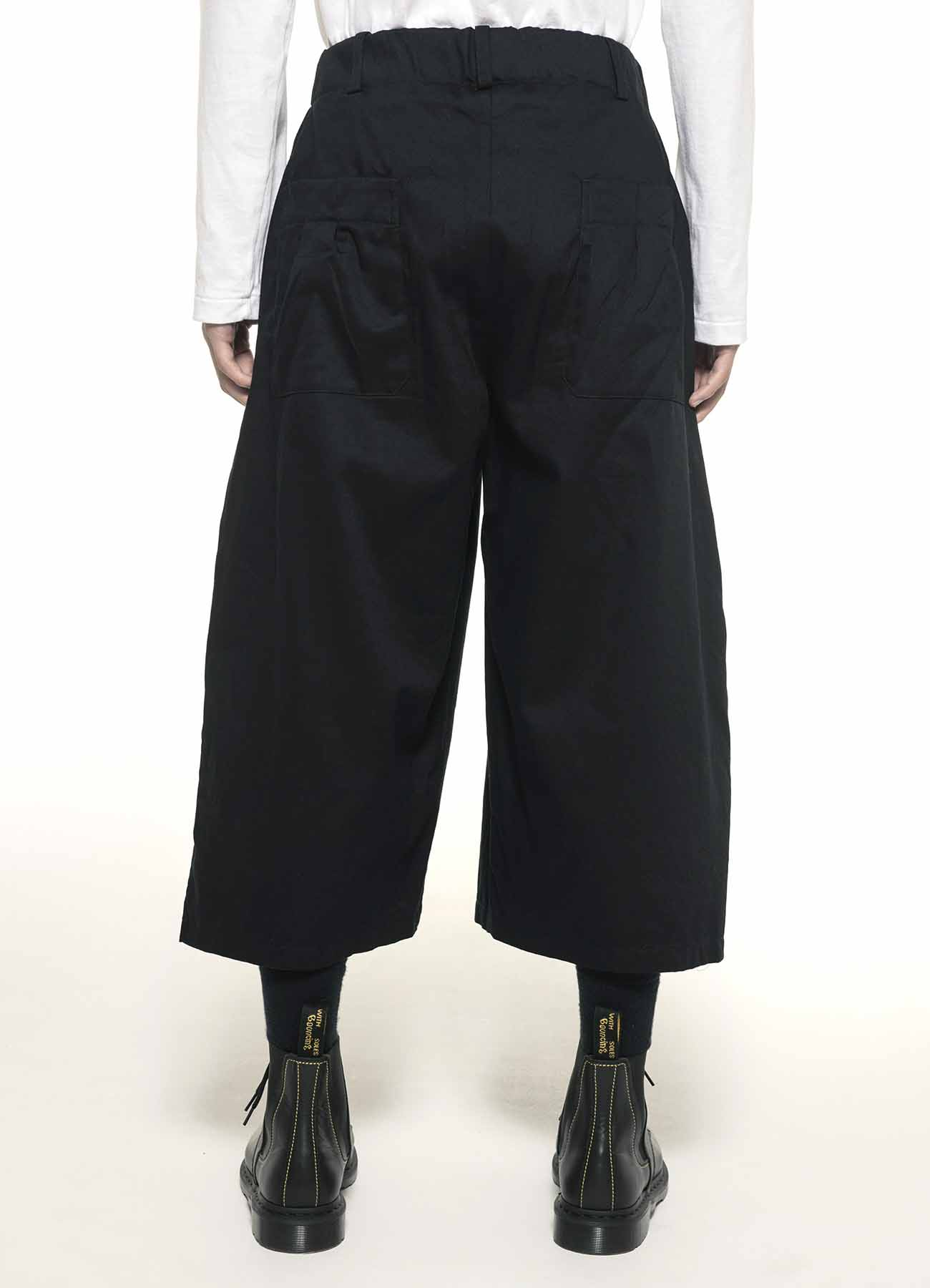 20/Cotton Twill One Tack 6part Length Side Tartancheck Pants