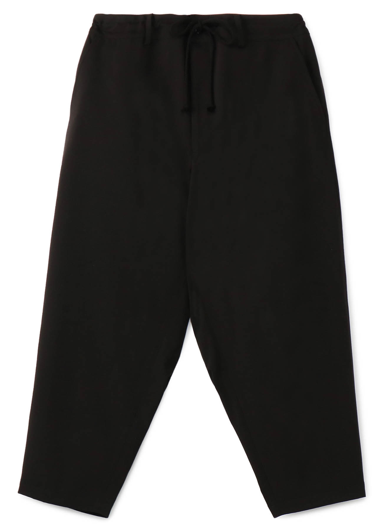Pe/Rayon Gabardine Stretch Flare Seam Crow Pants