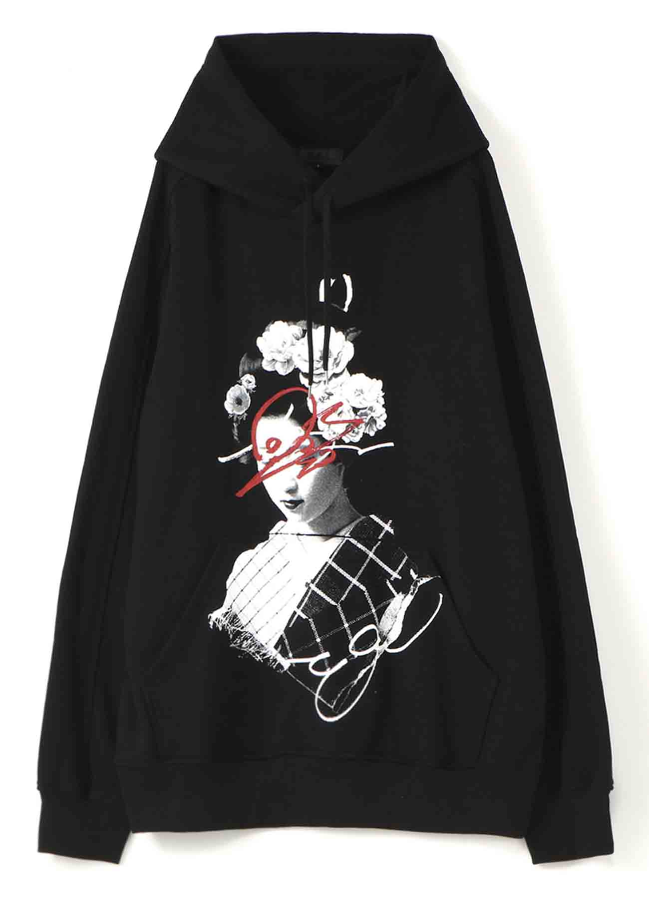 French Terry Stitch Work Maiko Hoodie