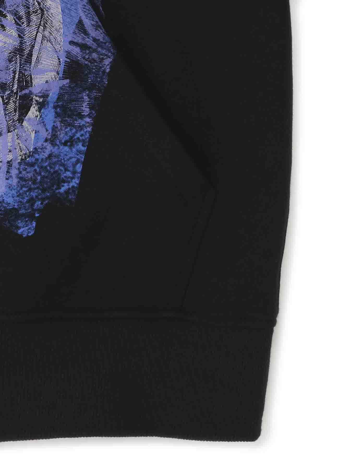 French Terry Stitch Work 「Tomie」Wearing Yohji Yamamoto Dress Tulle Hoodie