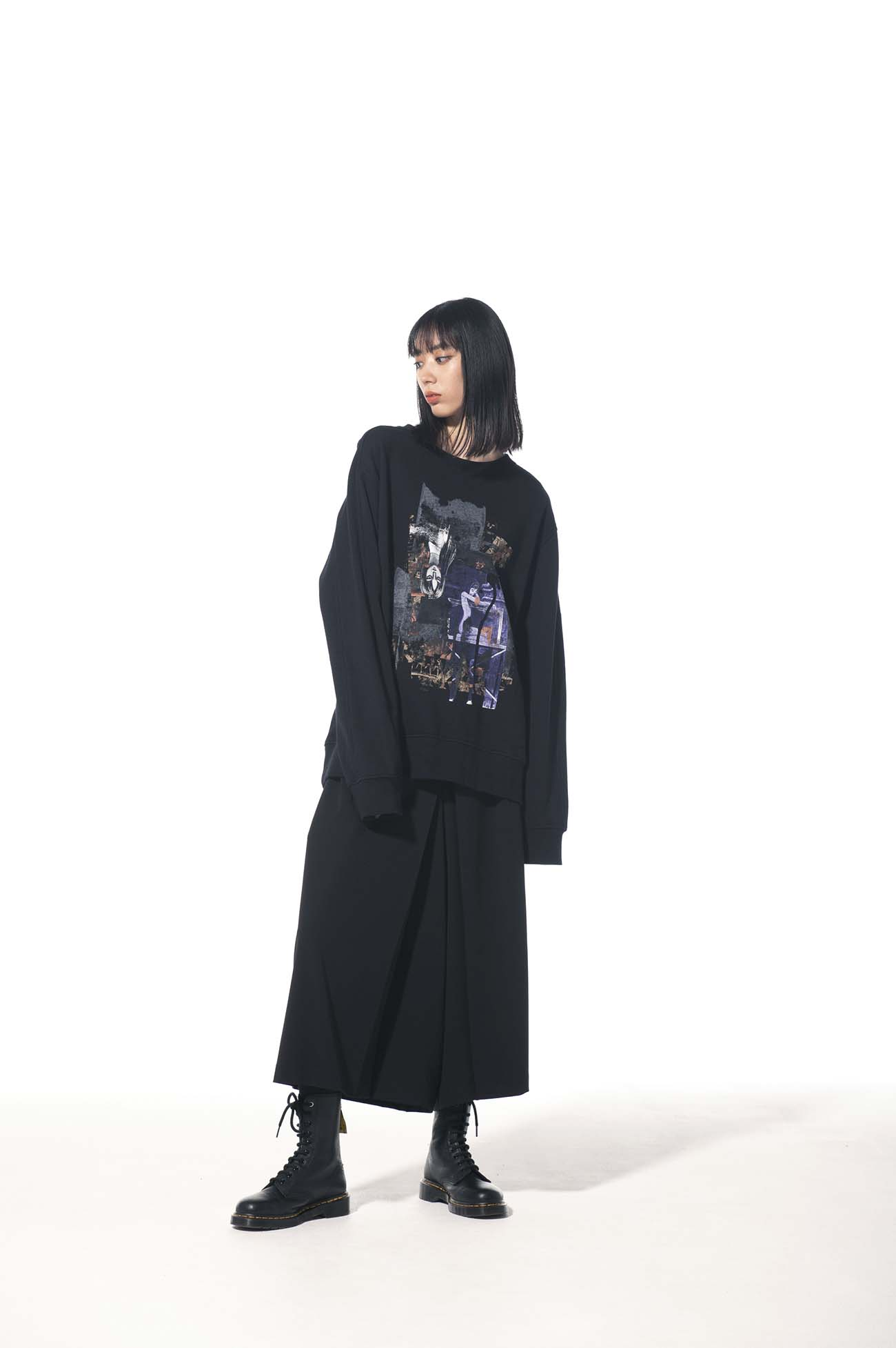 French Terry Stitch Work「Tomie」Masterpiece Collection Cover Pullover Crew