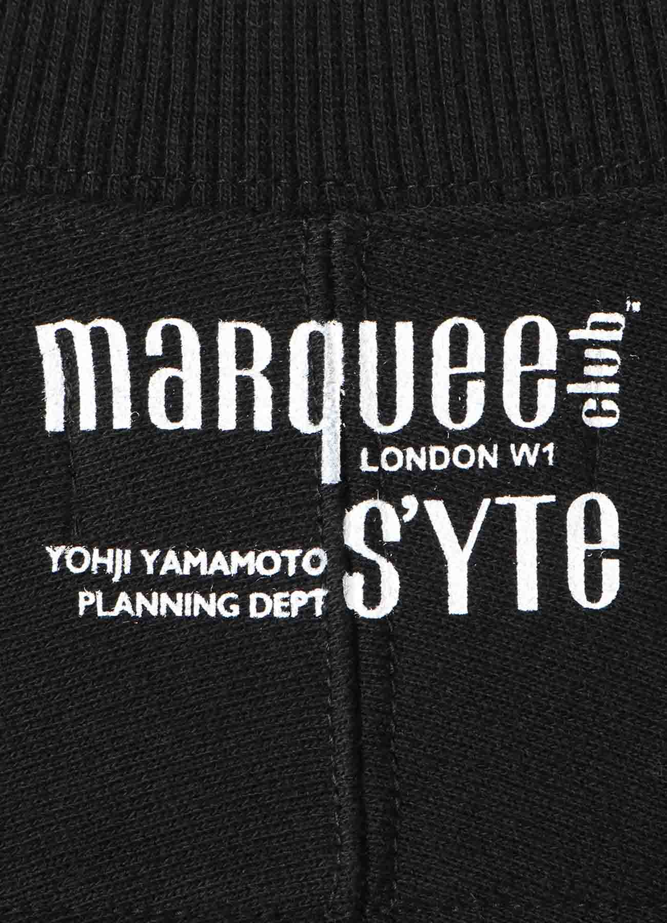 S'YTE × marquee club(R) 1973 French Terry Stitch Work Crewneck Pullover