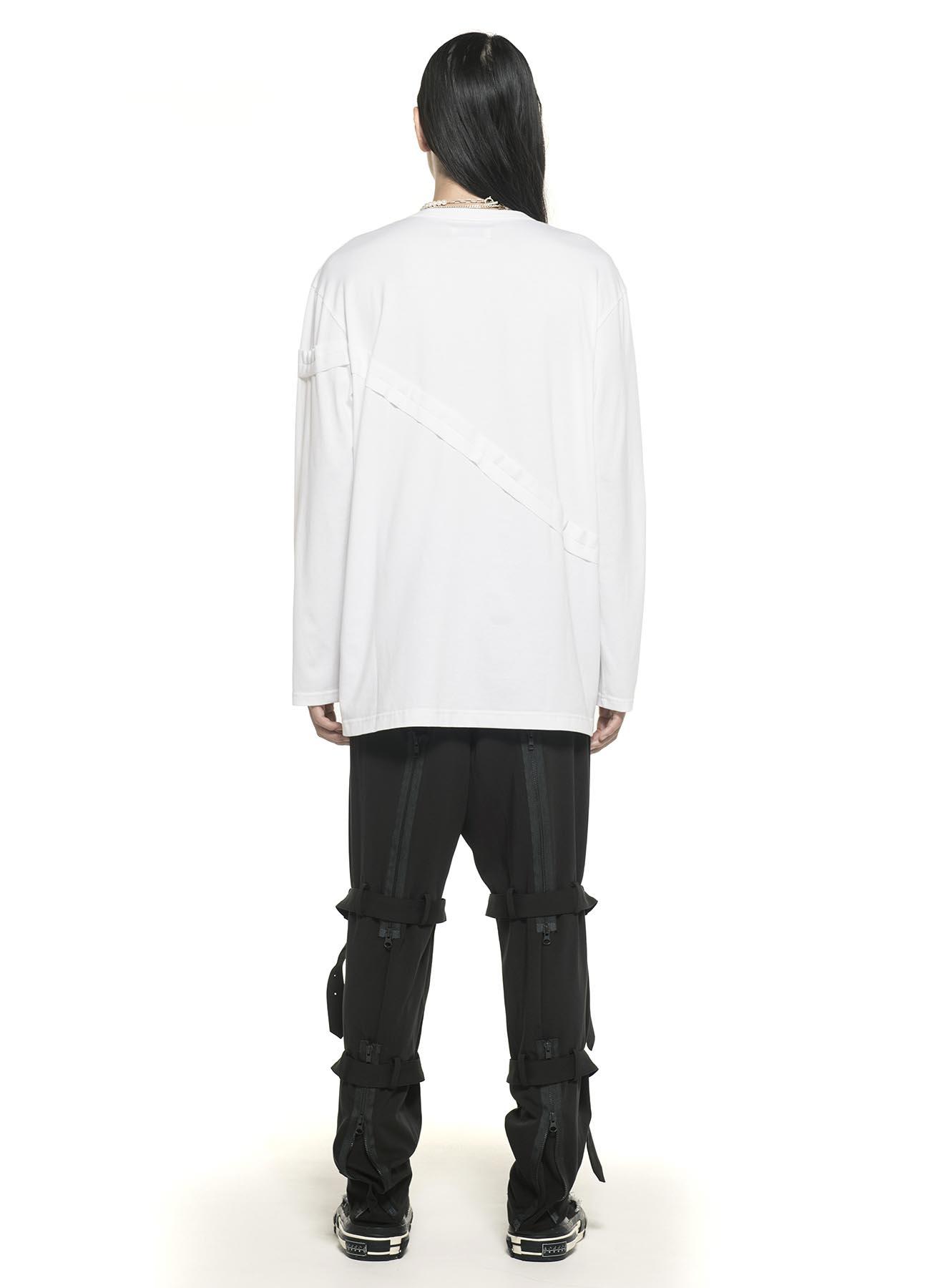 40/2 Jersey Diagonal Inside out Pocket T-shirt