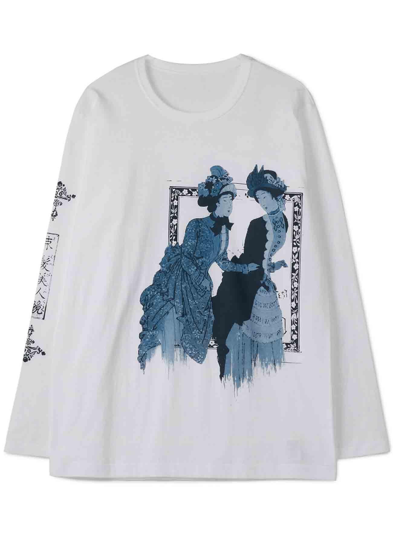 20/Cotton Jersey Rokumeikan Sokuhatsu Bijin Revolution Long Sleeve T-Shirt