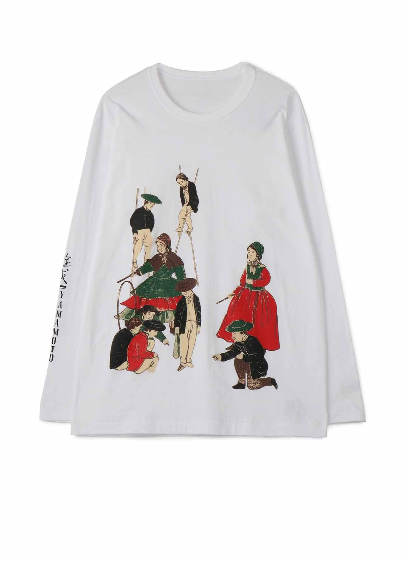 20/Cotton Jersey Rokumeikan Yuugi Memory Long Sleeve T-Shirt