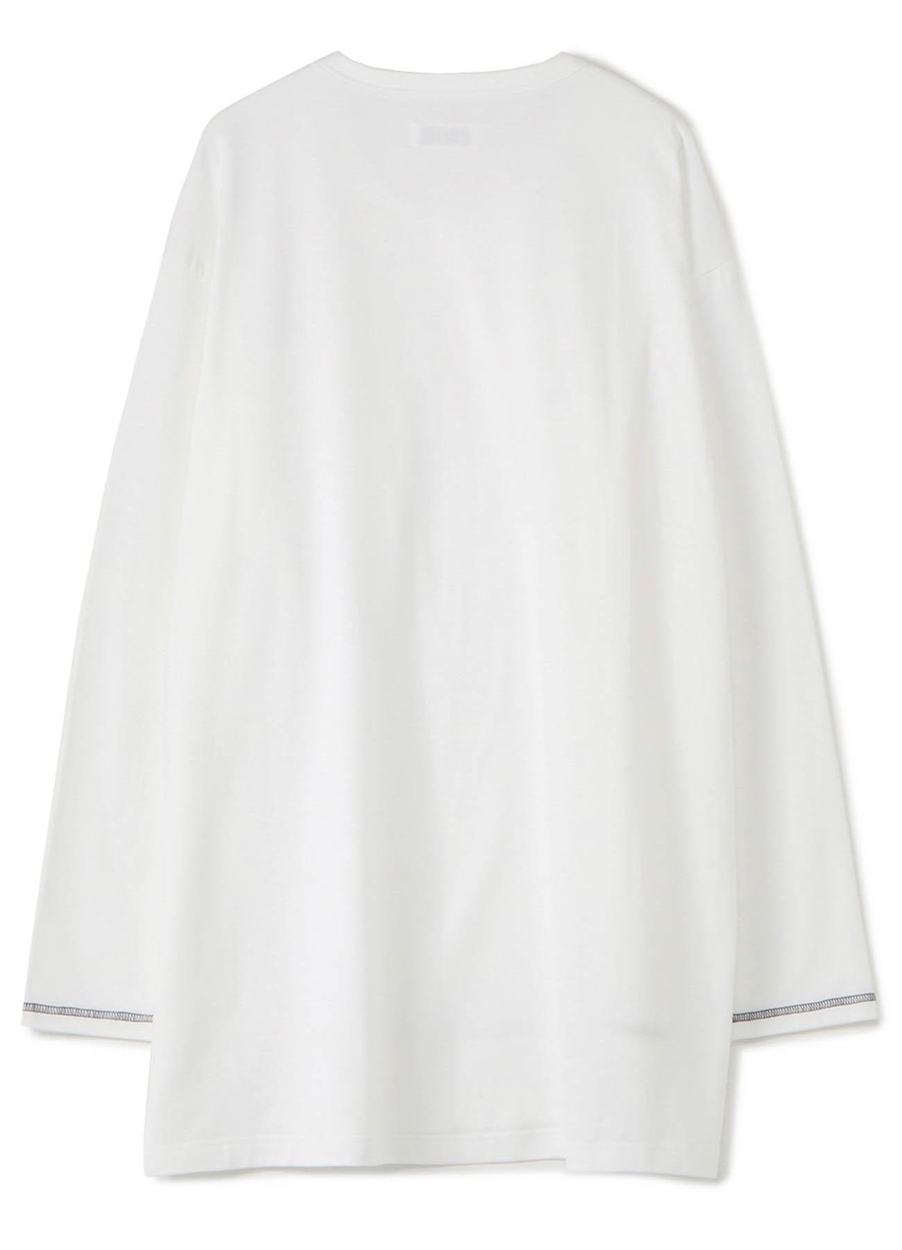 40/2 Cotton Jersey Crew Neck Half-Layered ColorLock Long Sleeve T-Shirt