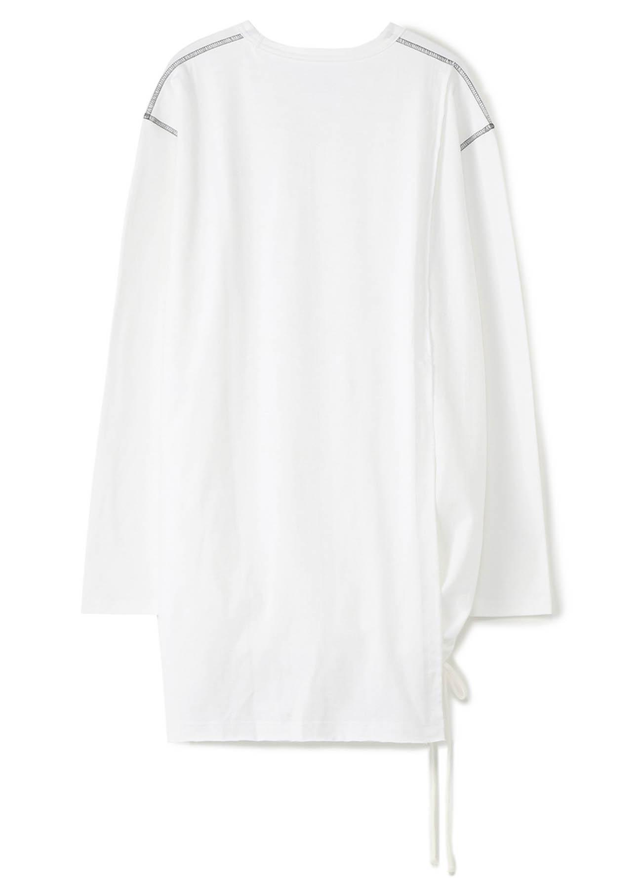 40/2 Cotton Jersey Crew Drawstring Back Half-Layered ColorLock Big T-Shirt