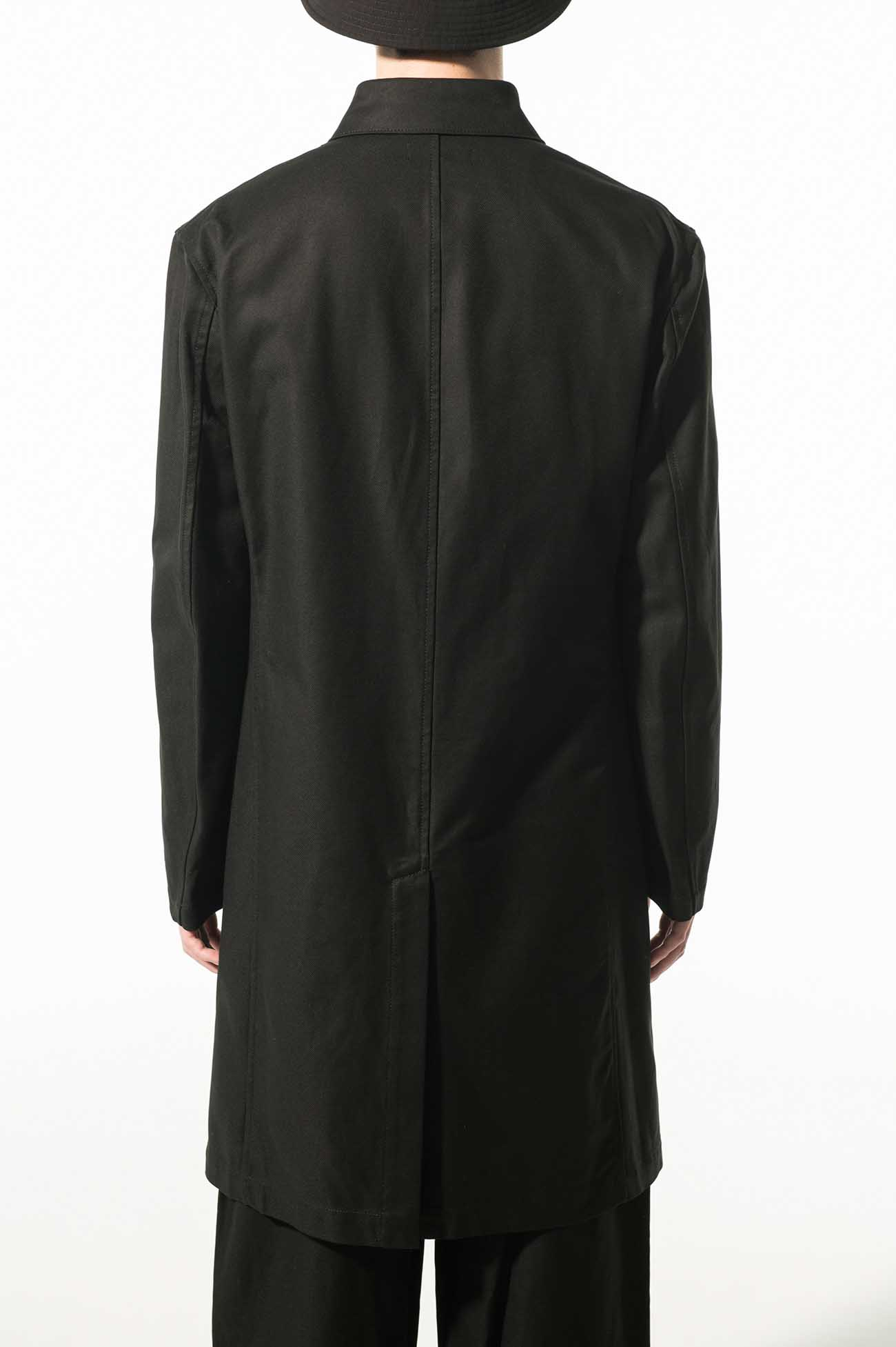 French Worker Surge Long Work Jacket