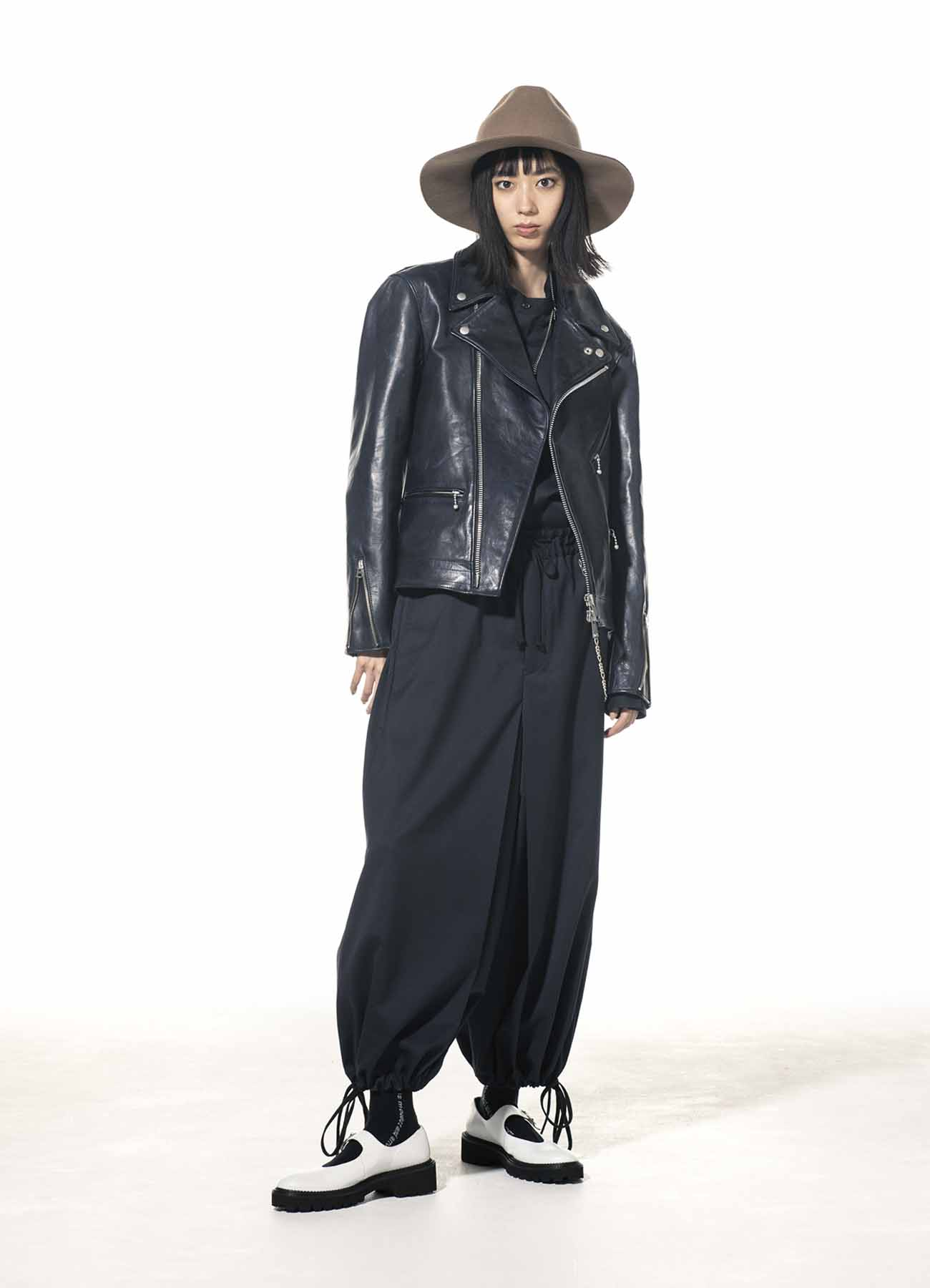 Lambskin Leather Double Riders Jacket