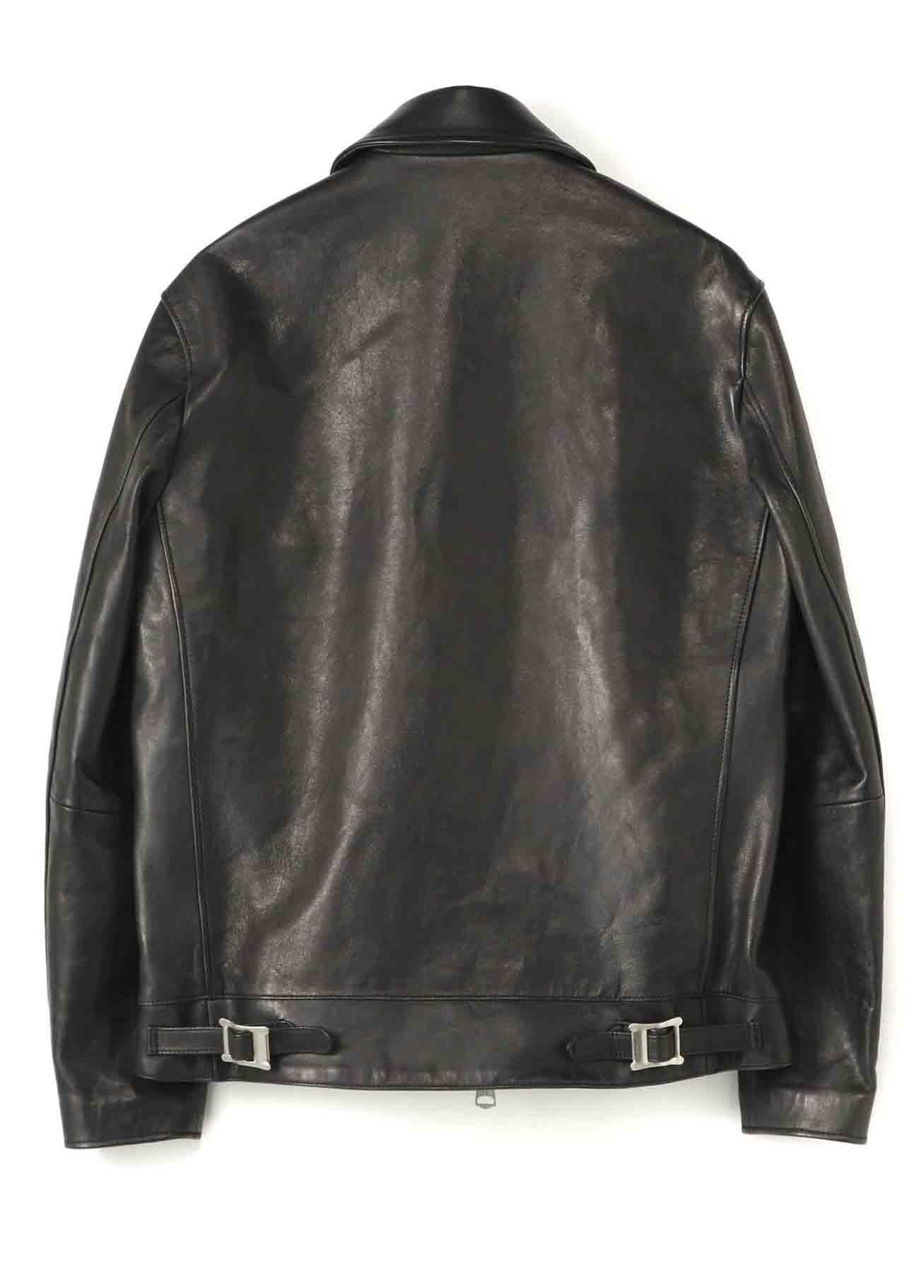 Lambskin Leather Single Riders Jacket