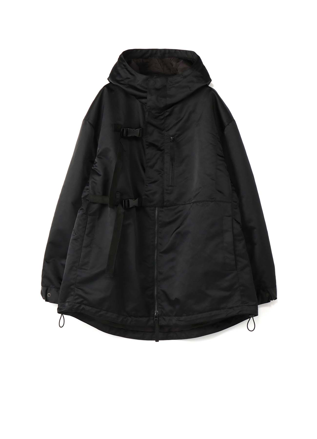 Nylon Twill Storm Shield Double Buckle Shell Jacket