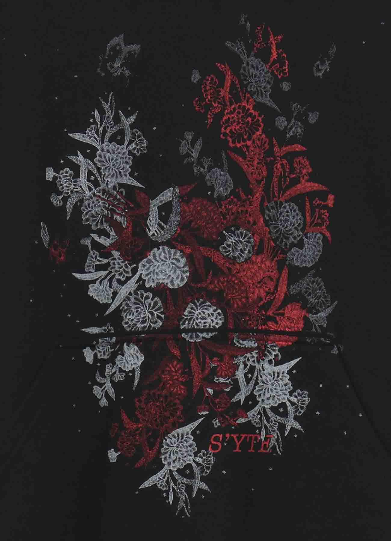 印尼传统蜡染图案帽衫