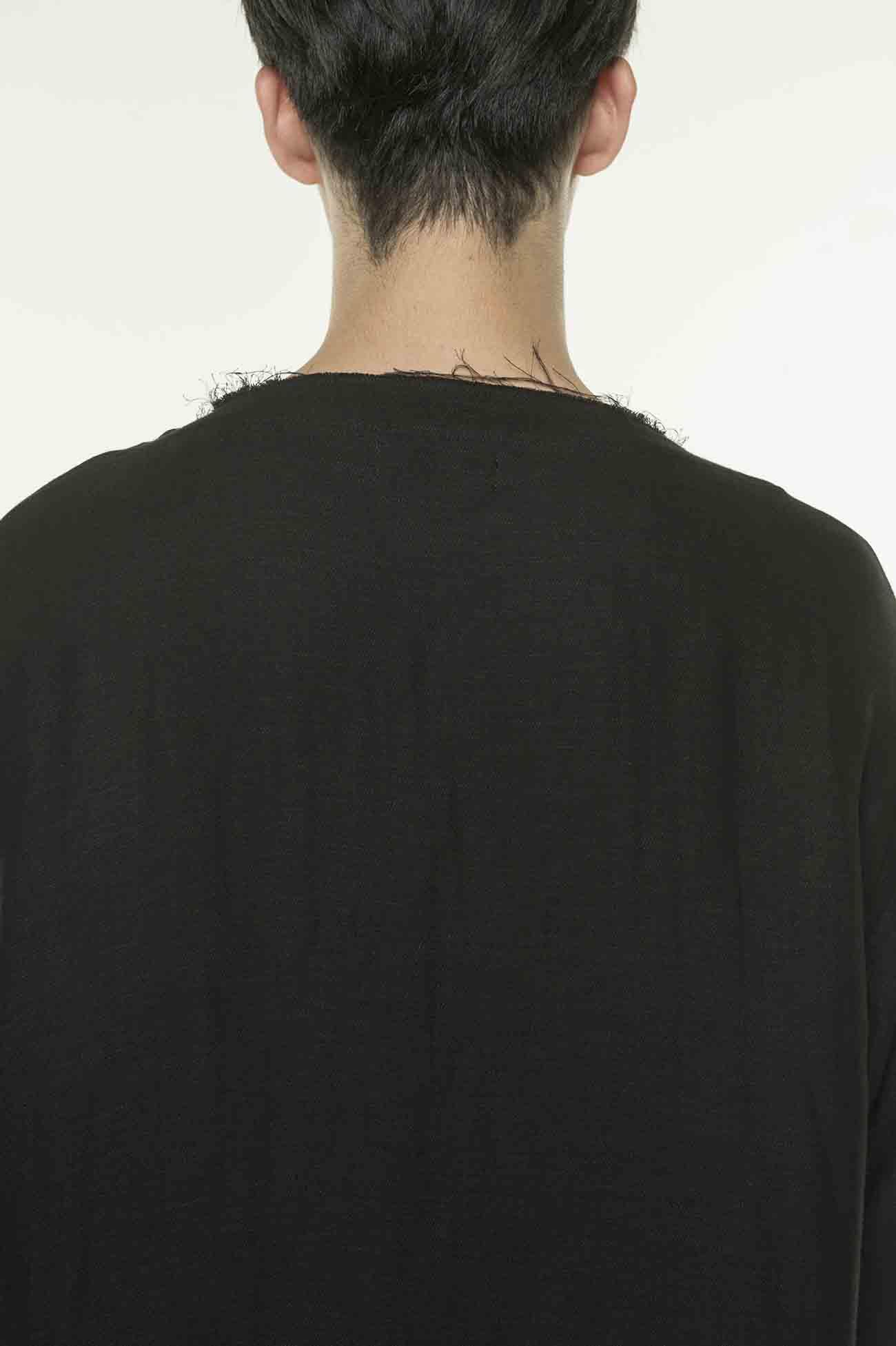 开襟短袖针织衫