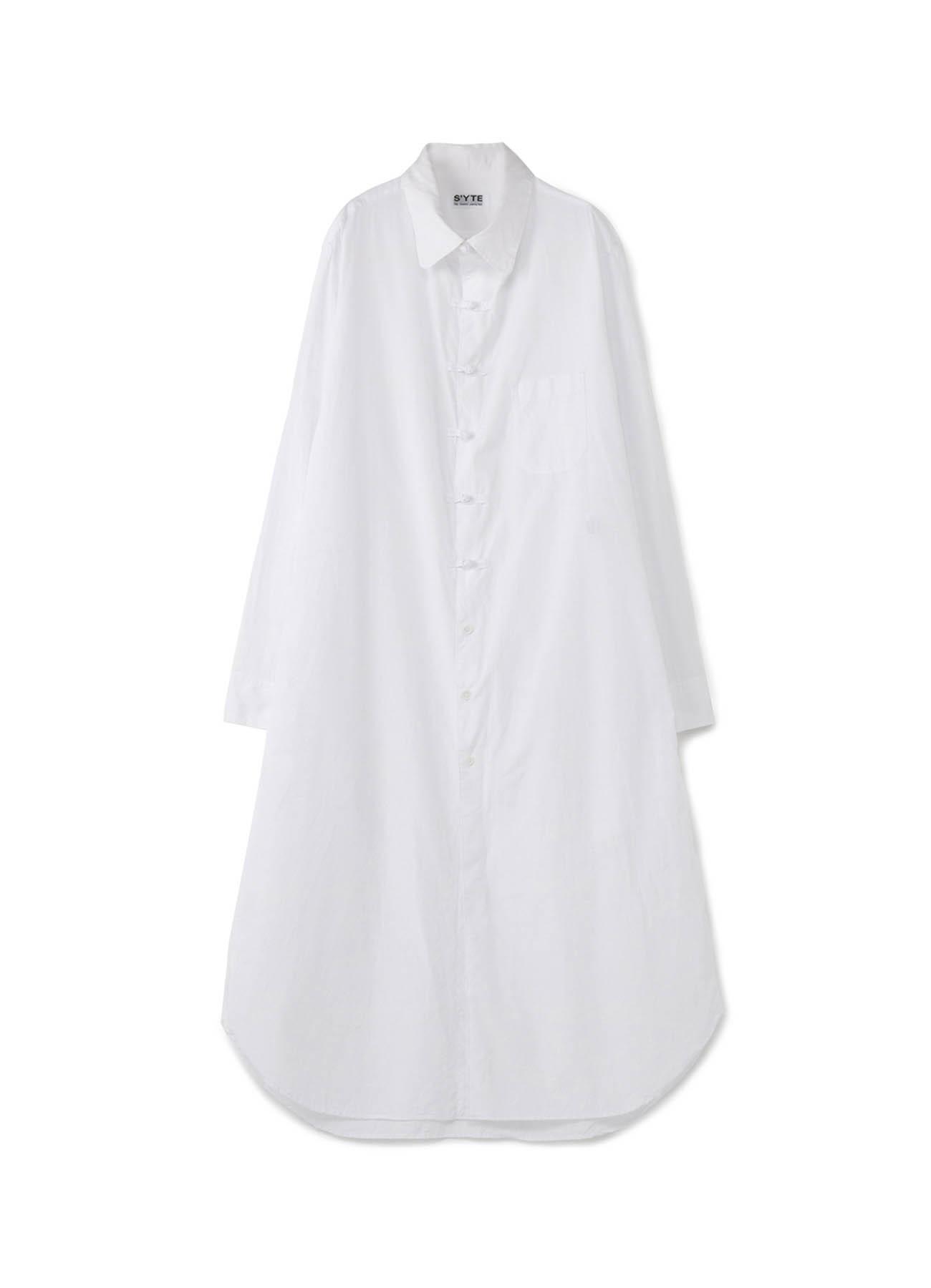 长款中式衬衫
