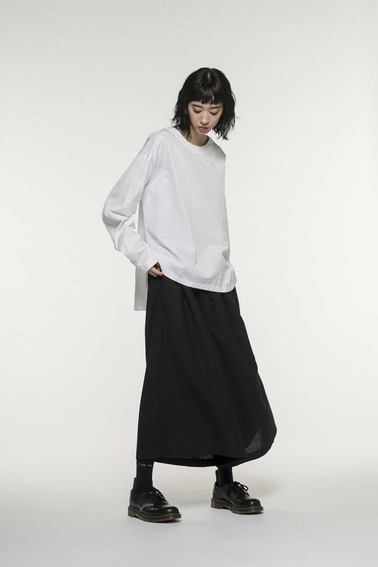 100/2 Broad Crew Neck Pullover Shirt