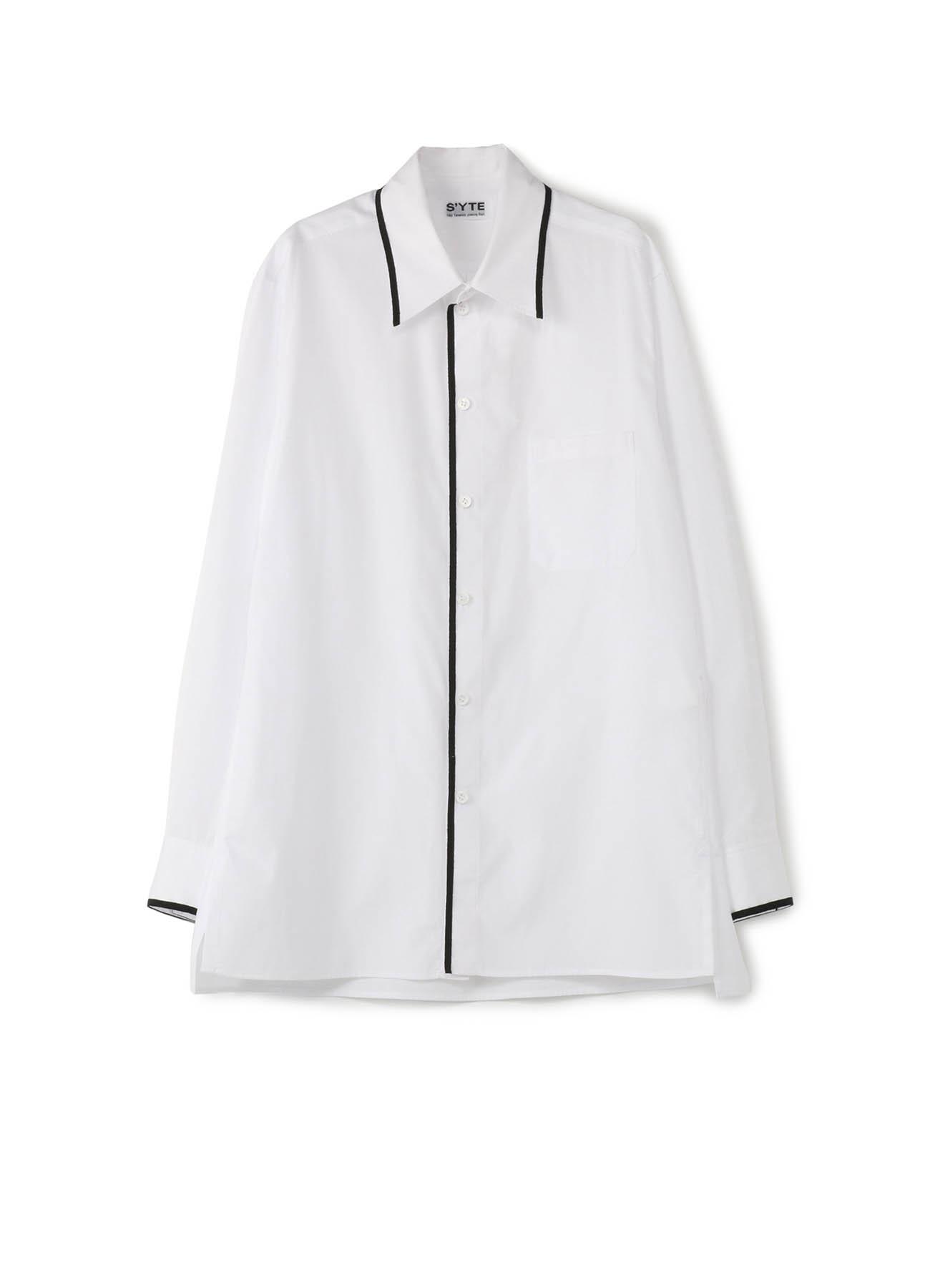 100/2 Broad Regular Collar Tape Shirt