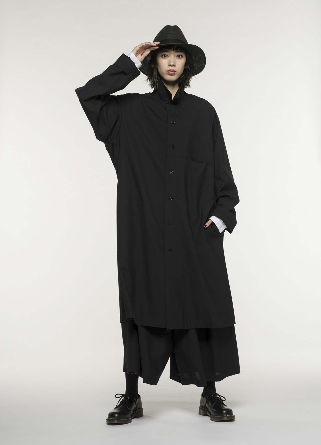 夏季羊毛长款夹克