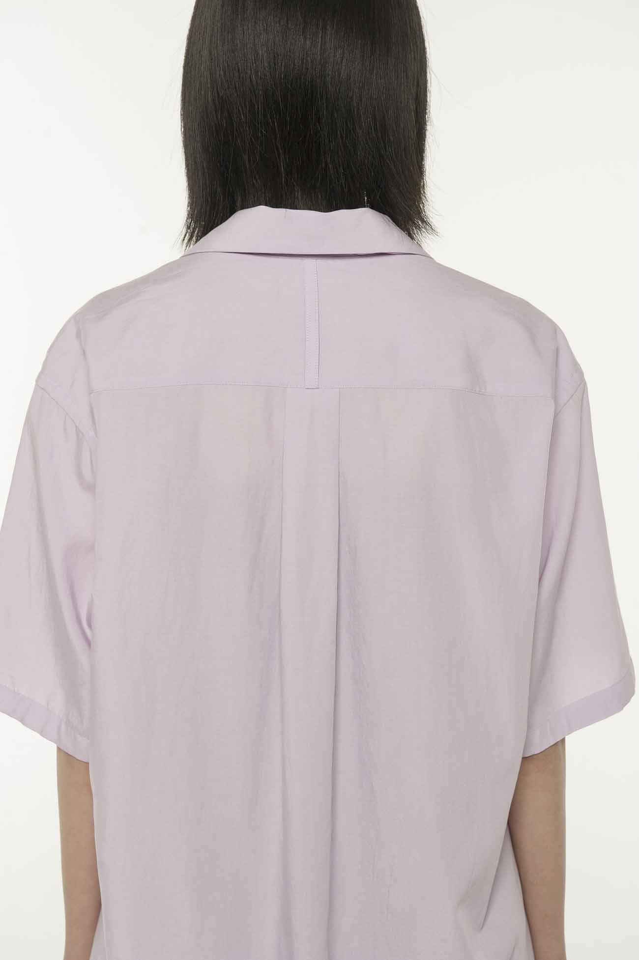 西装领衬衫