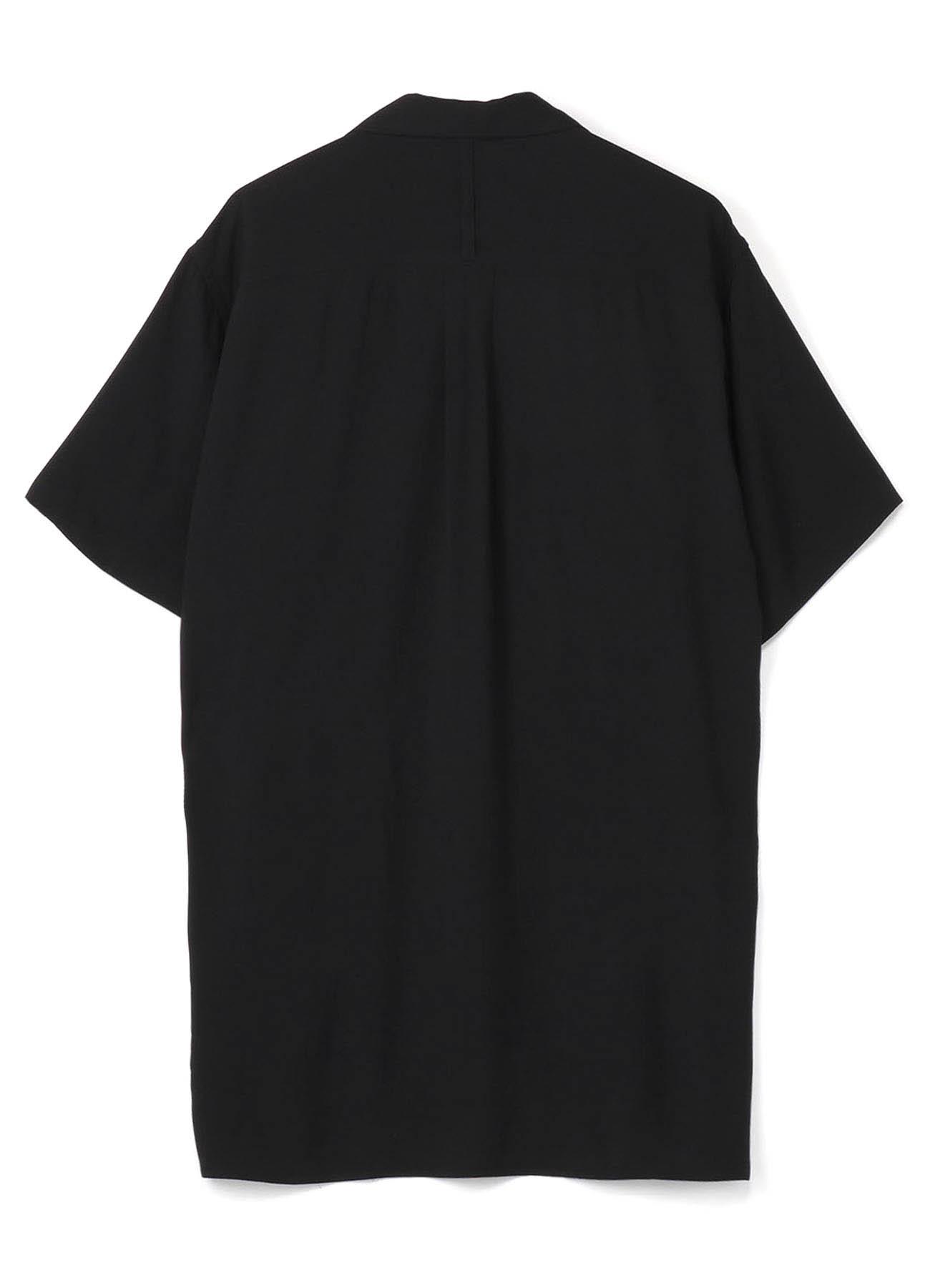 西装领半袖衬衫