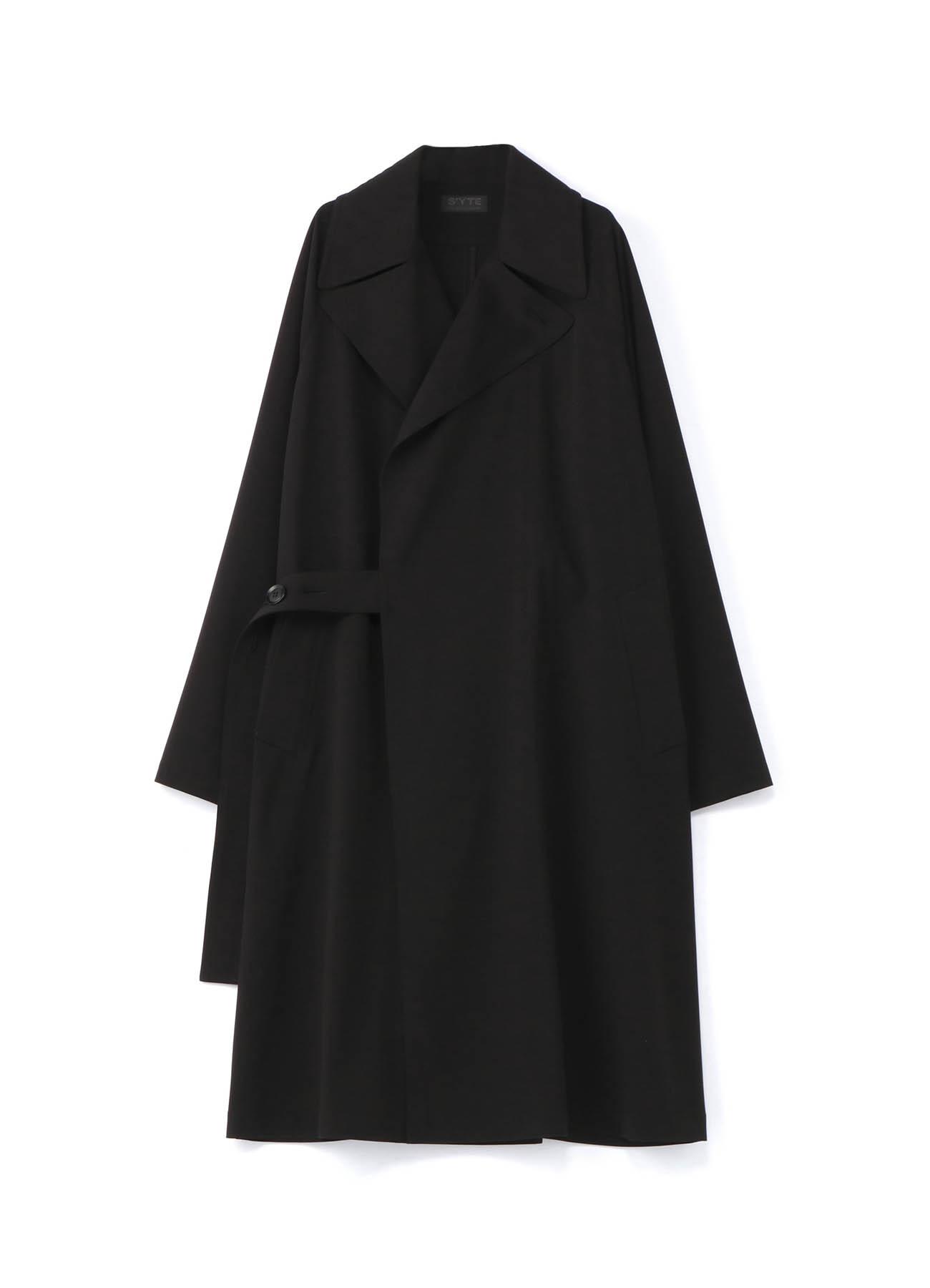 Pe /人造丝华达呢弹性Tielocken大衣