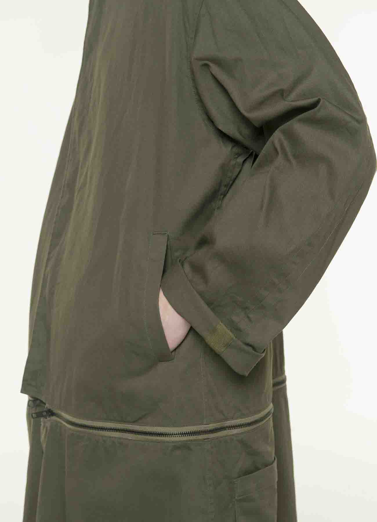 20/Cotton Twill Detachable Separate All-in-One