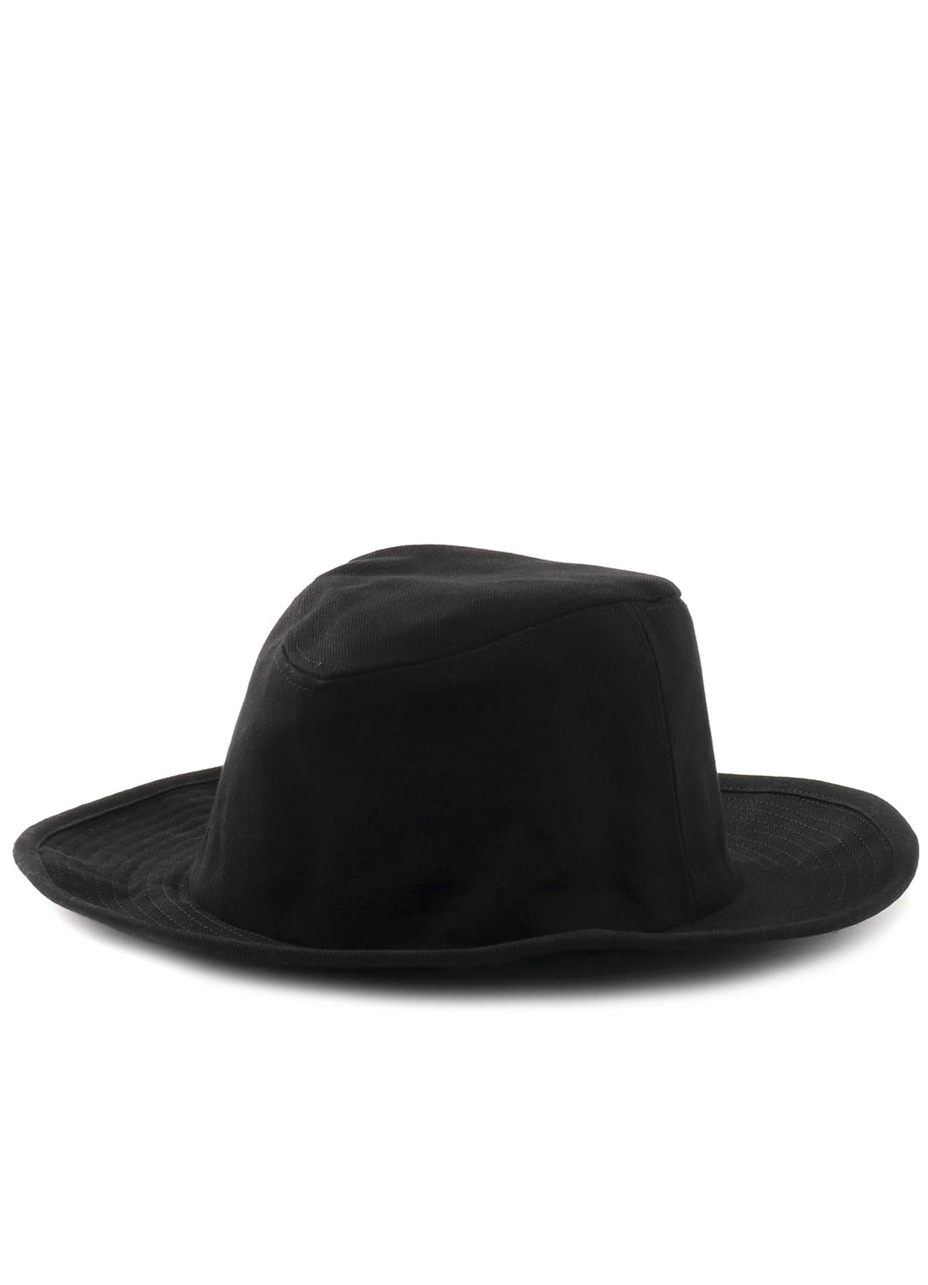 Cotton Twill Long Brim Hat