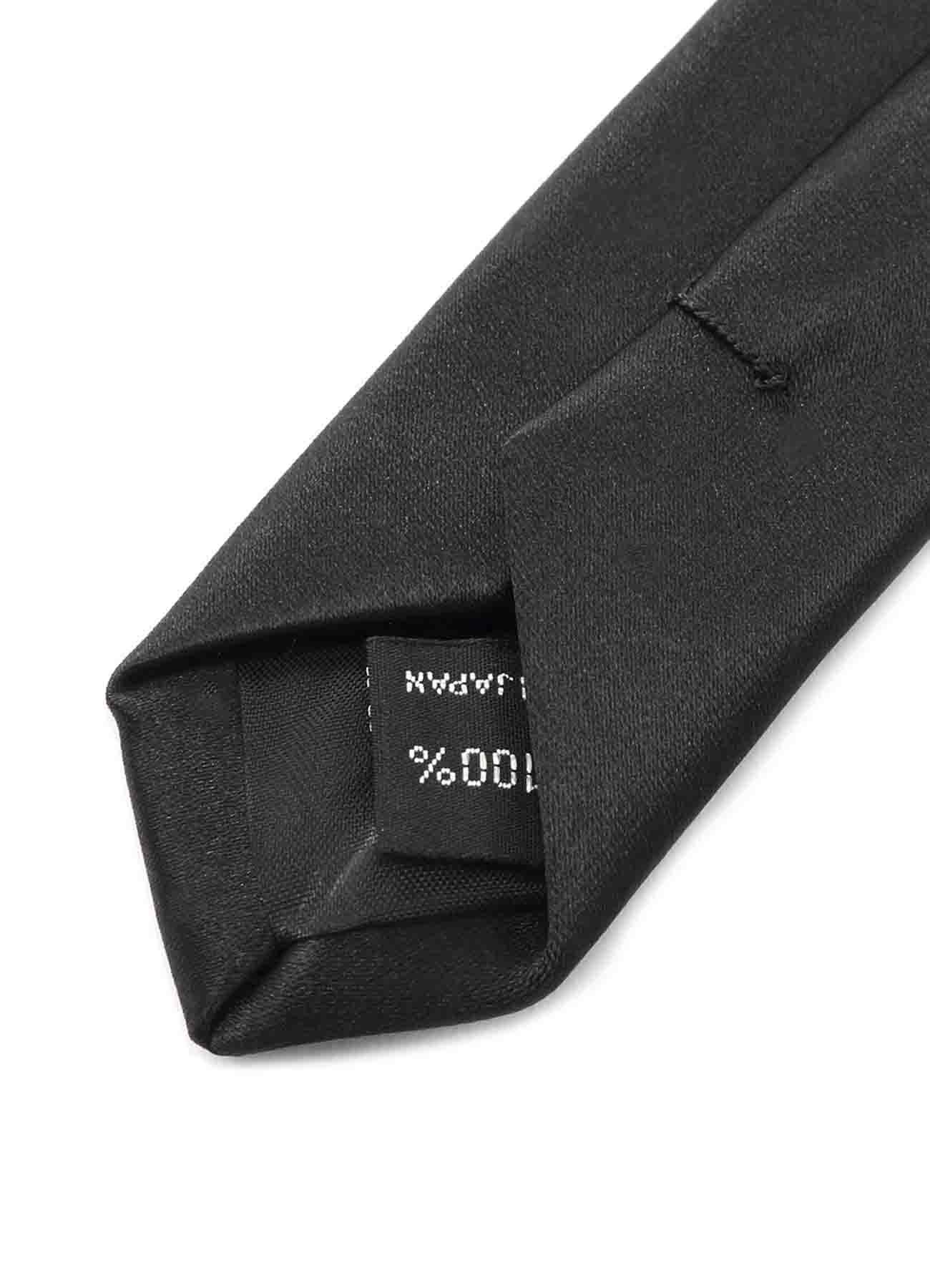 乌鸦图案真丝刺绣领带
