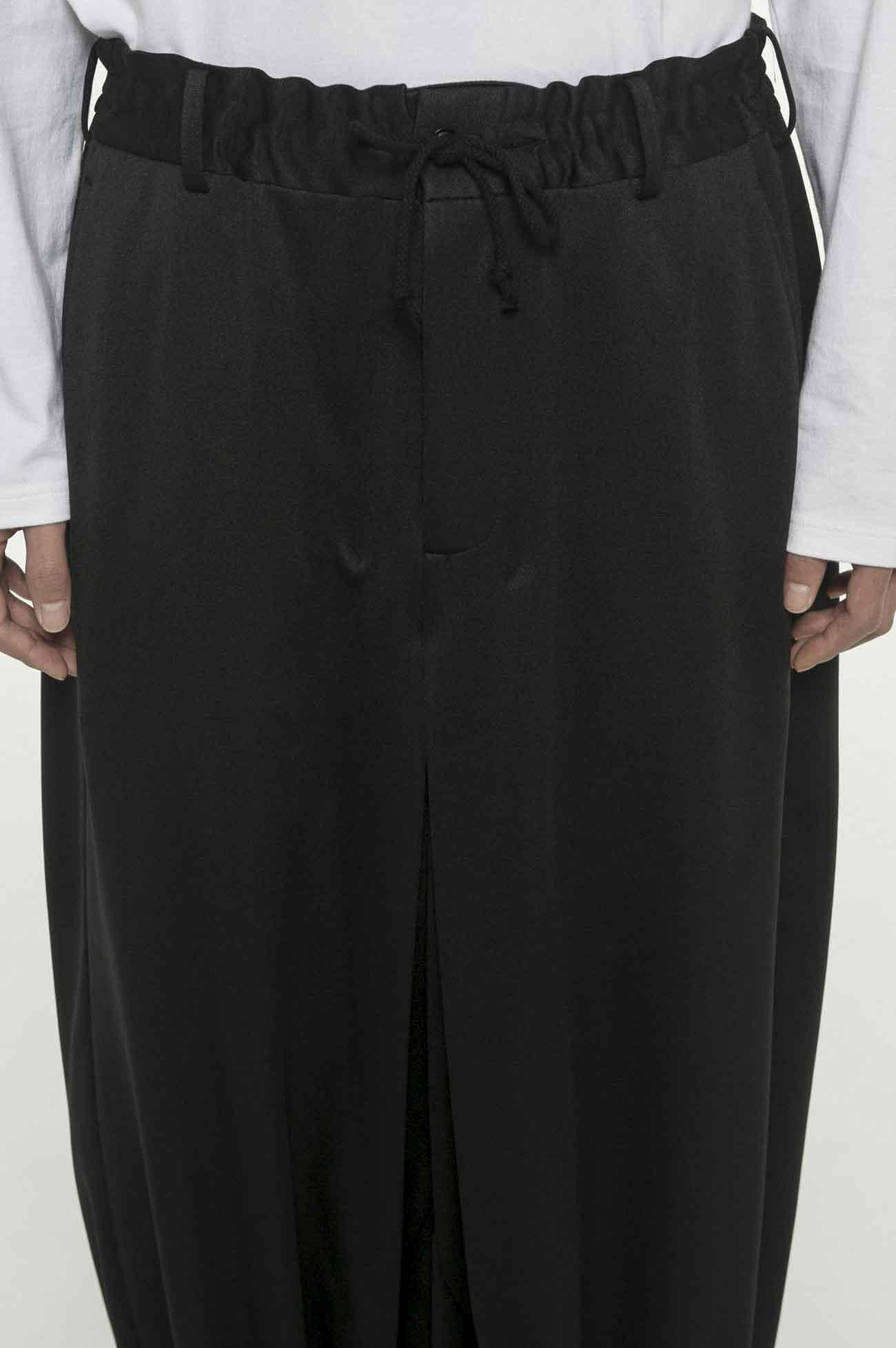 和风袴压线设计灯笼裤
