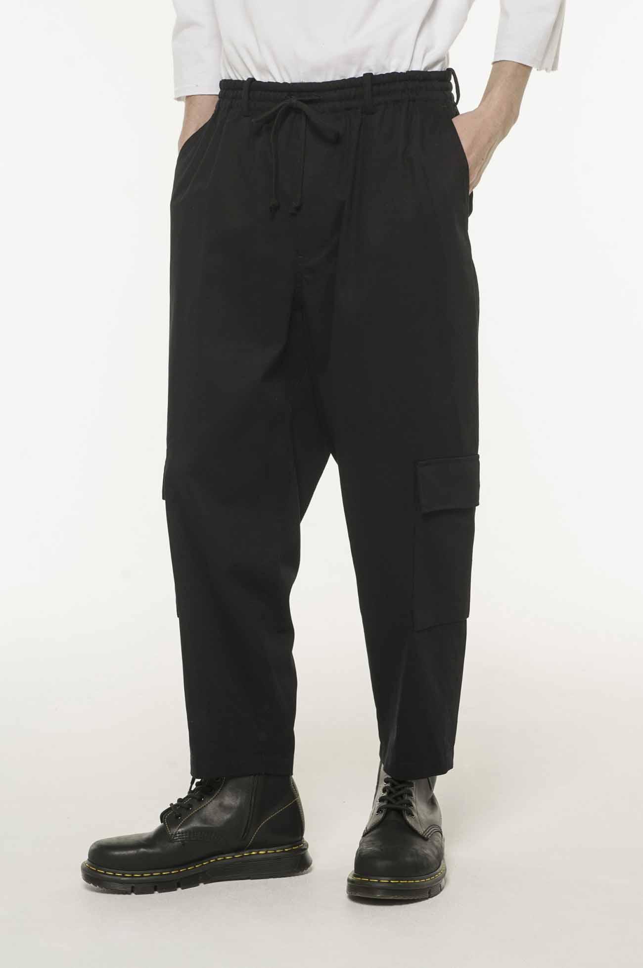 抽绳工装裤