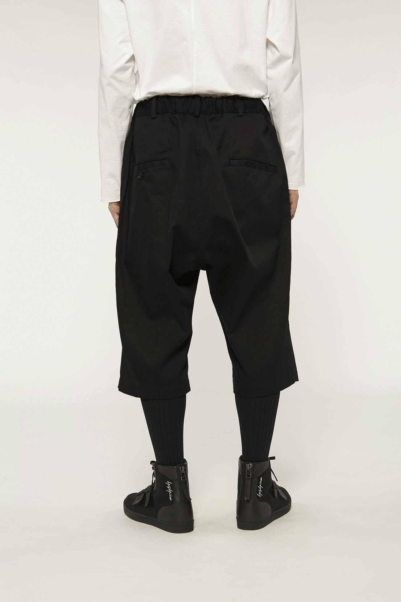 20/Cotton Twill Drop Hip 6-Quarter-Length Pants