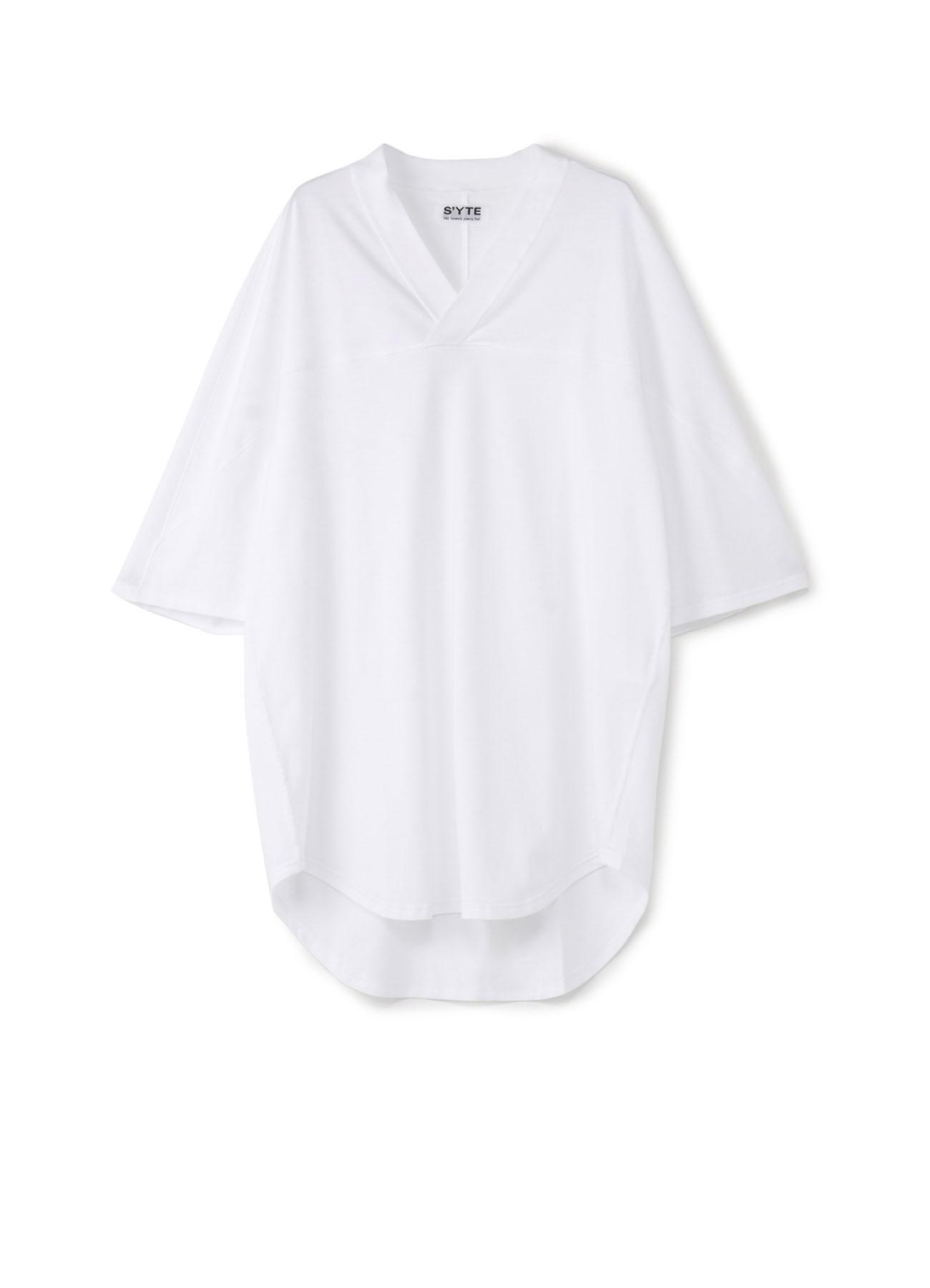 40/2Cotton Jersey Football V-Neck Half Sleeve T-shirt