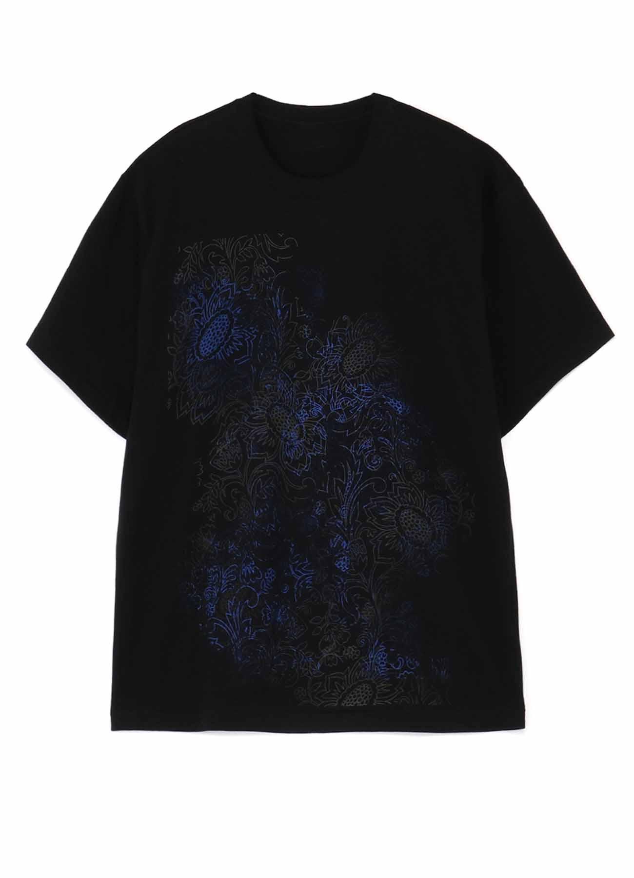 20/CottonJersey Batik Blue T-Shirt