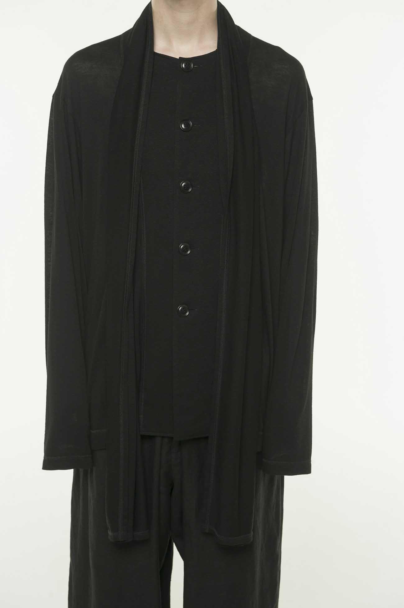 围巾长袖开衫