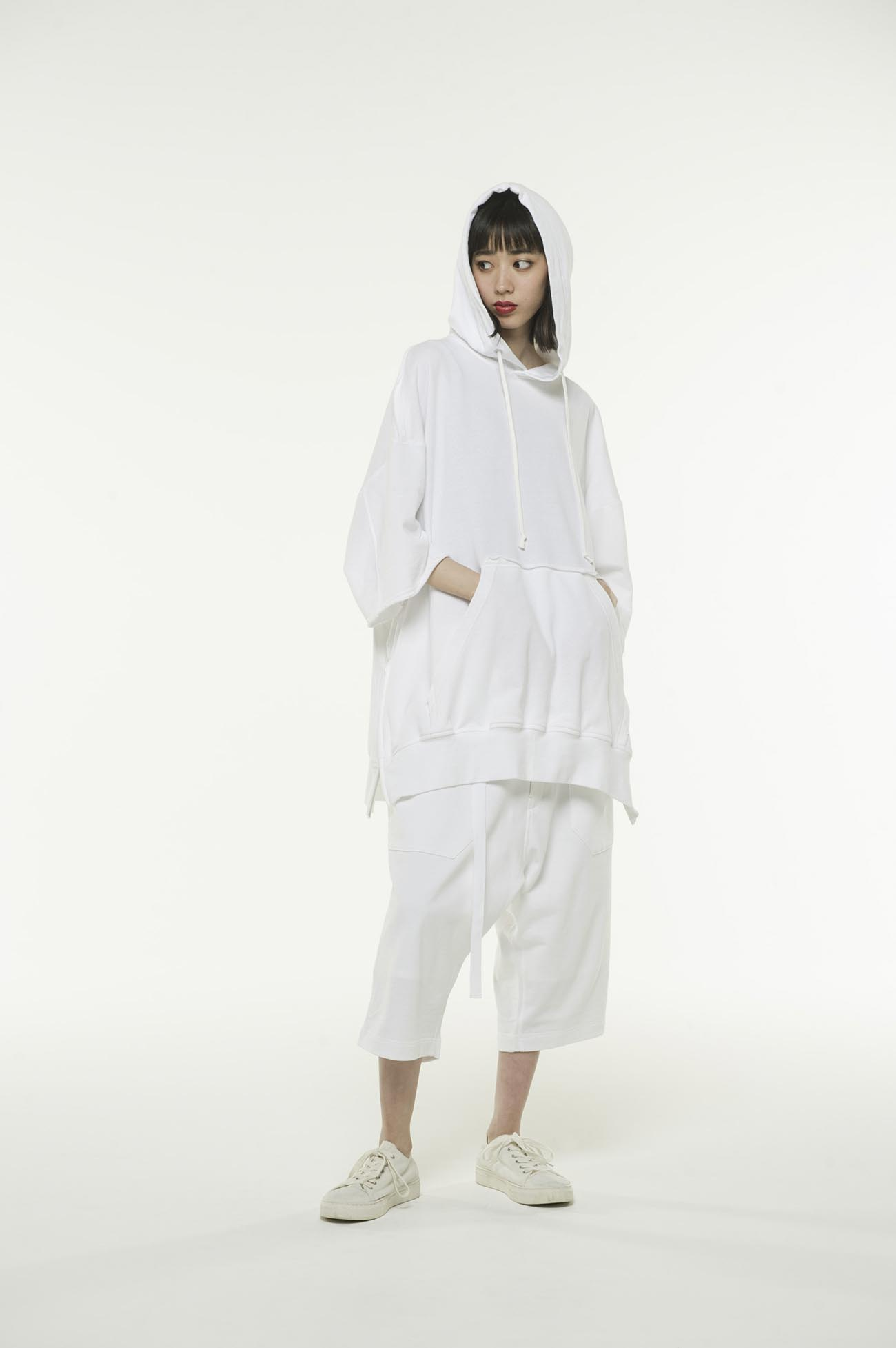 细绒纯棉六分裤