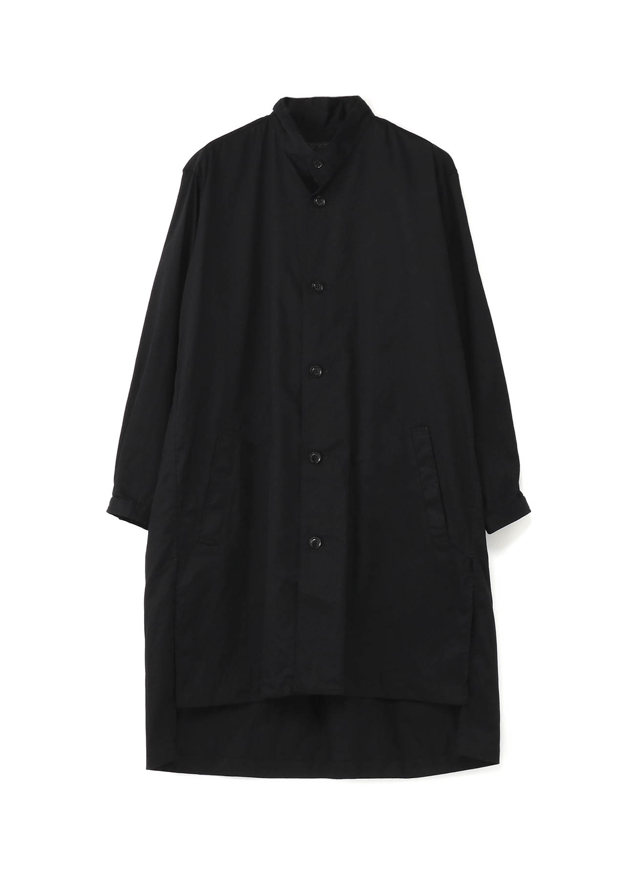 20/Cotton Twill Stand Collar Coat