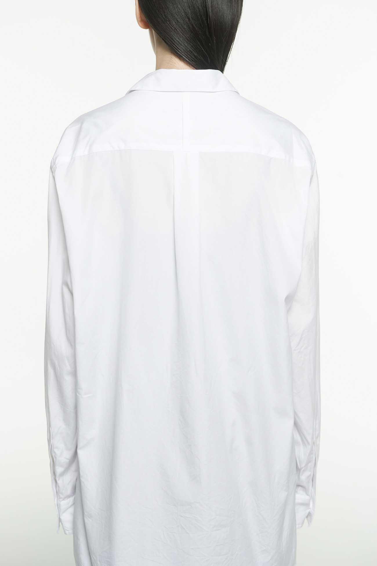 100/2 Broad「Into The Future.」Y・Y Message Open Collar Shirt