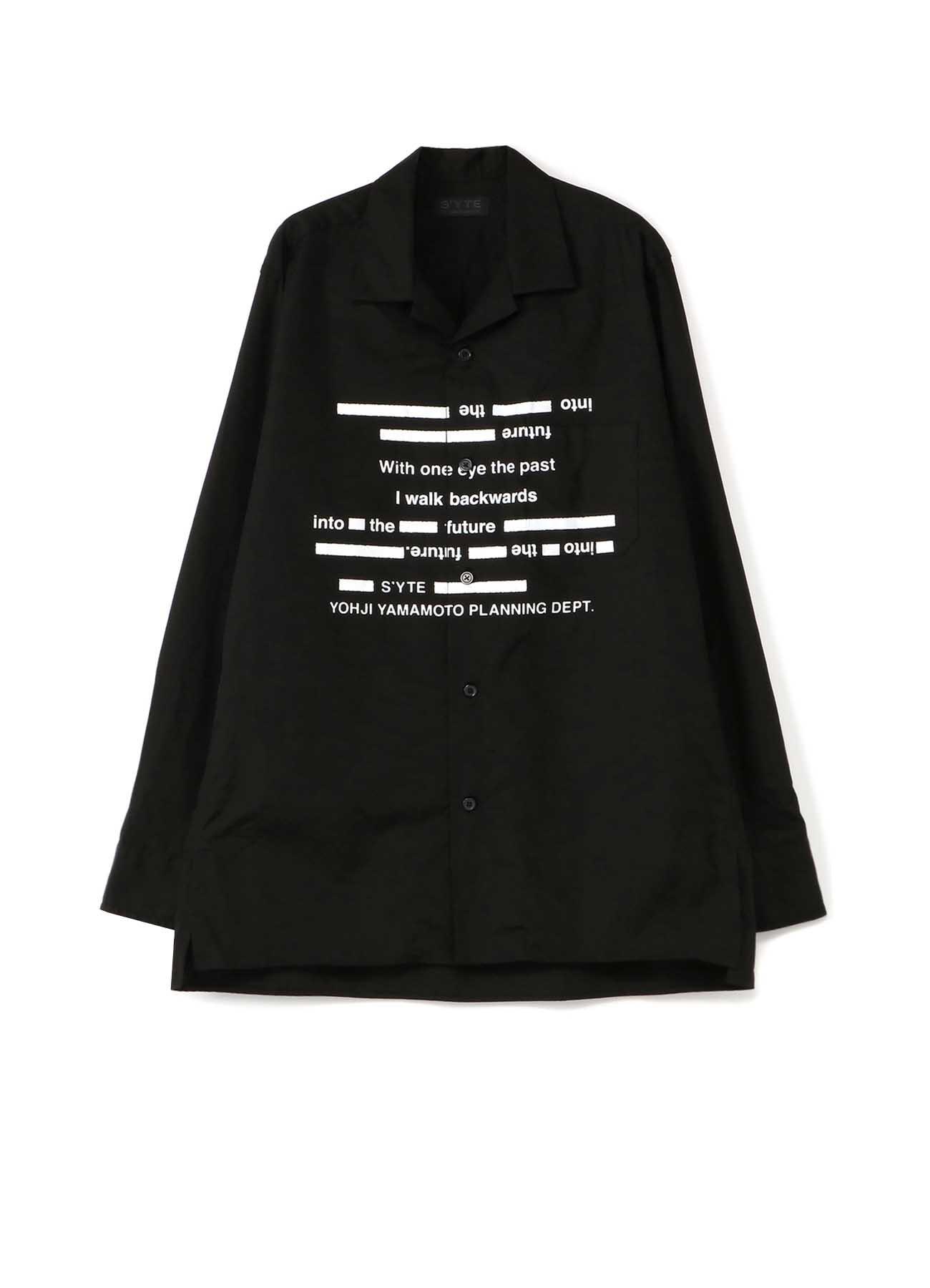 山本耀司语录西装领衬衫