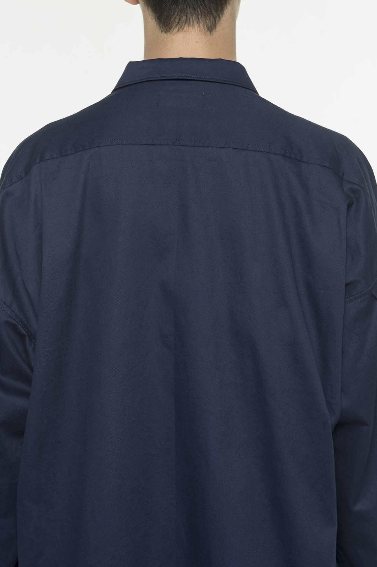 西装领长款夹克