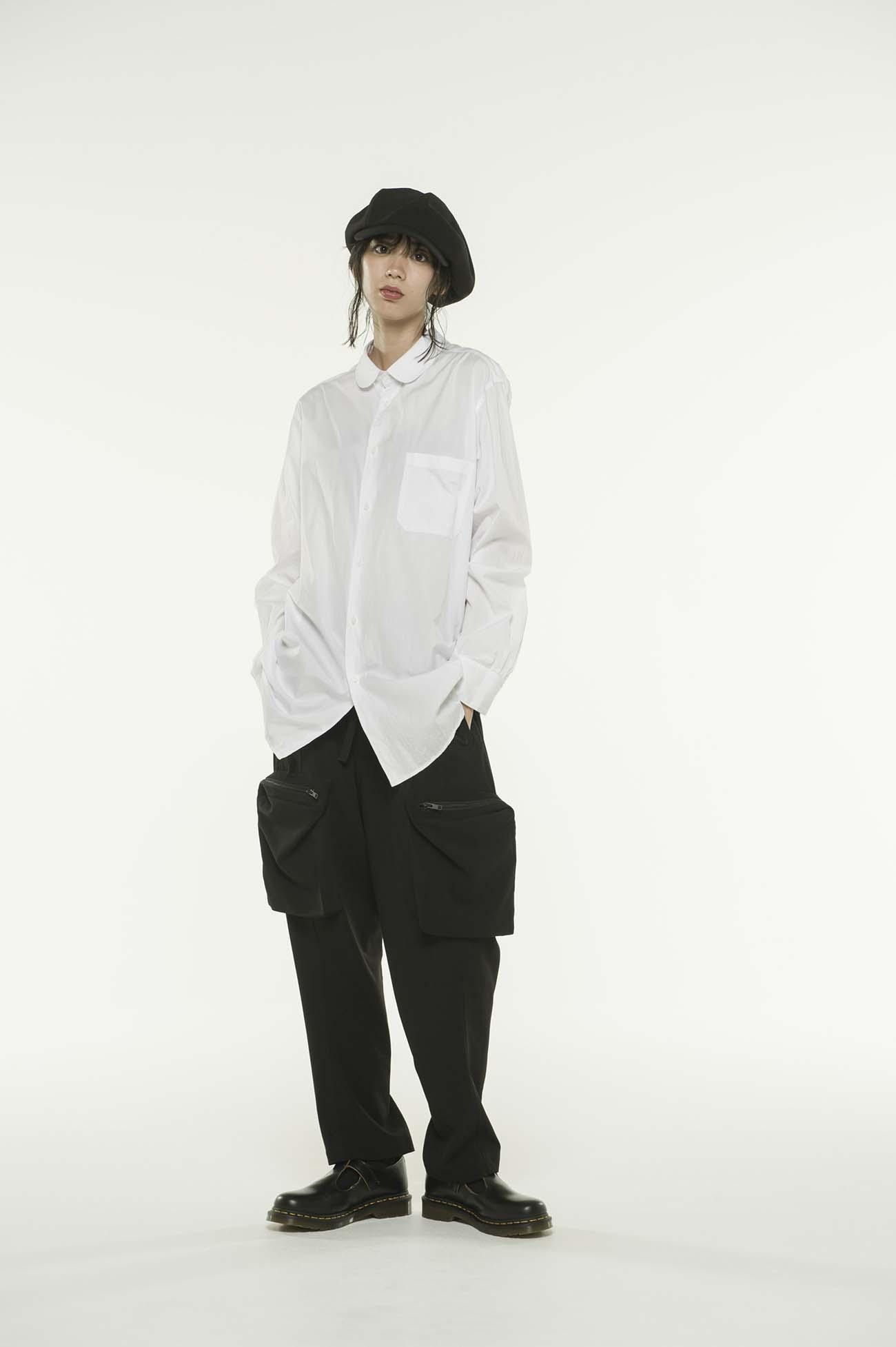 100/2 Broad Round Collar Shirt