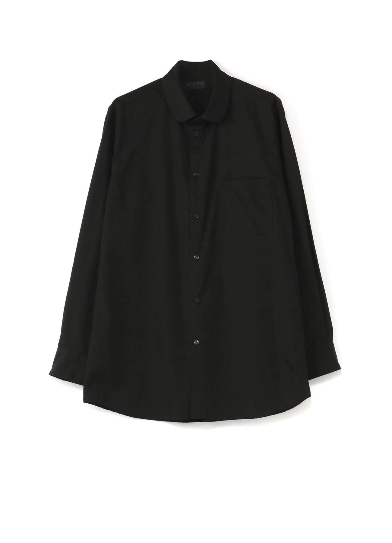 100/2宽圆领衬衫