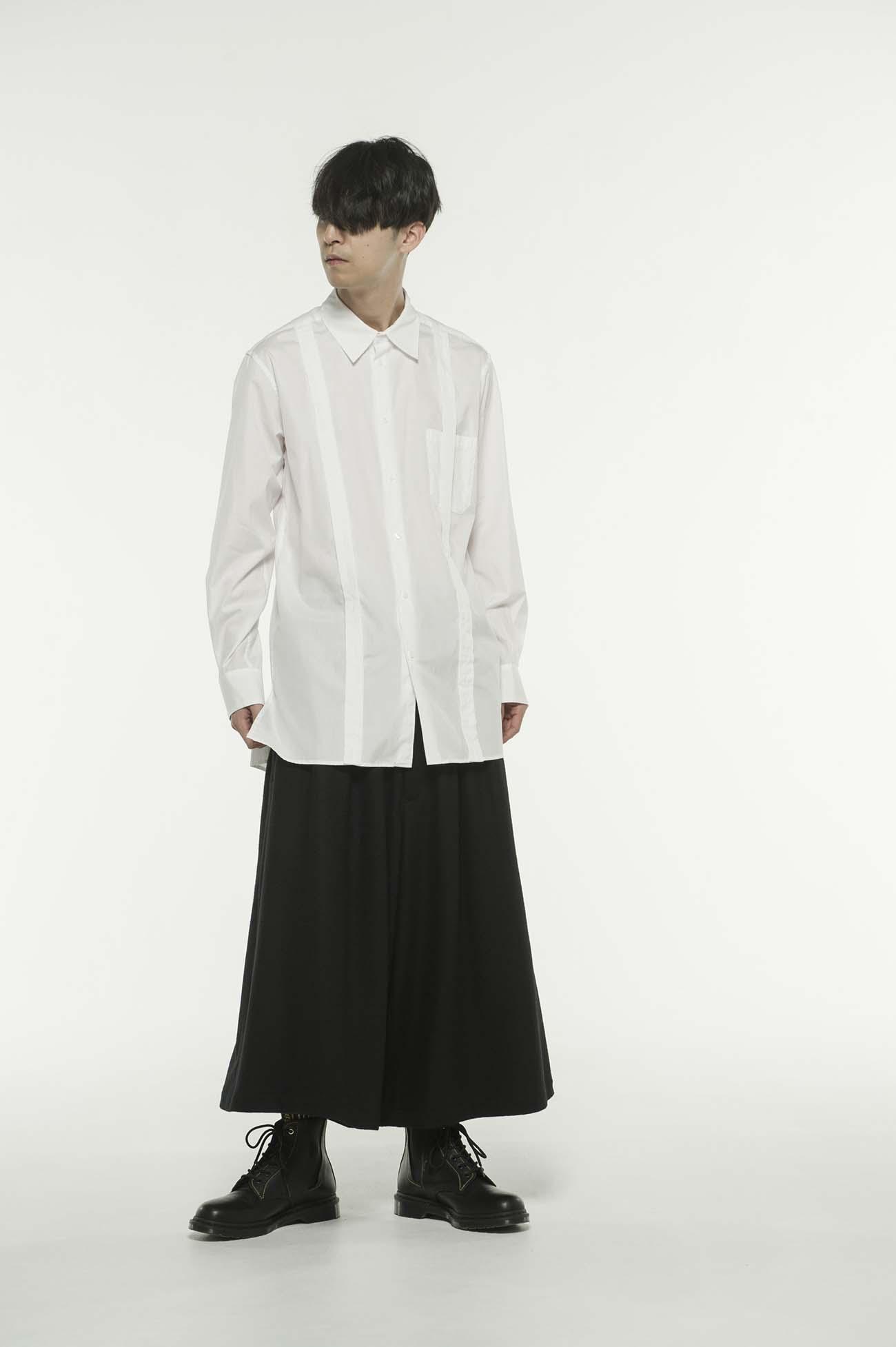 100/2 Broad Regular Collar Suspend Shirt