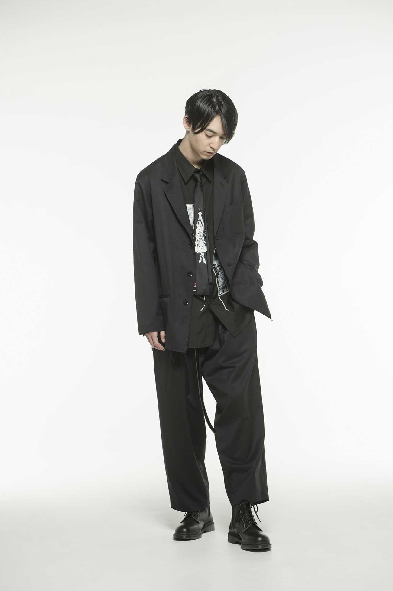 """S'YTE × 伊藤润二−""""补丁""""短款衬衫"""