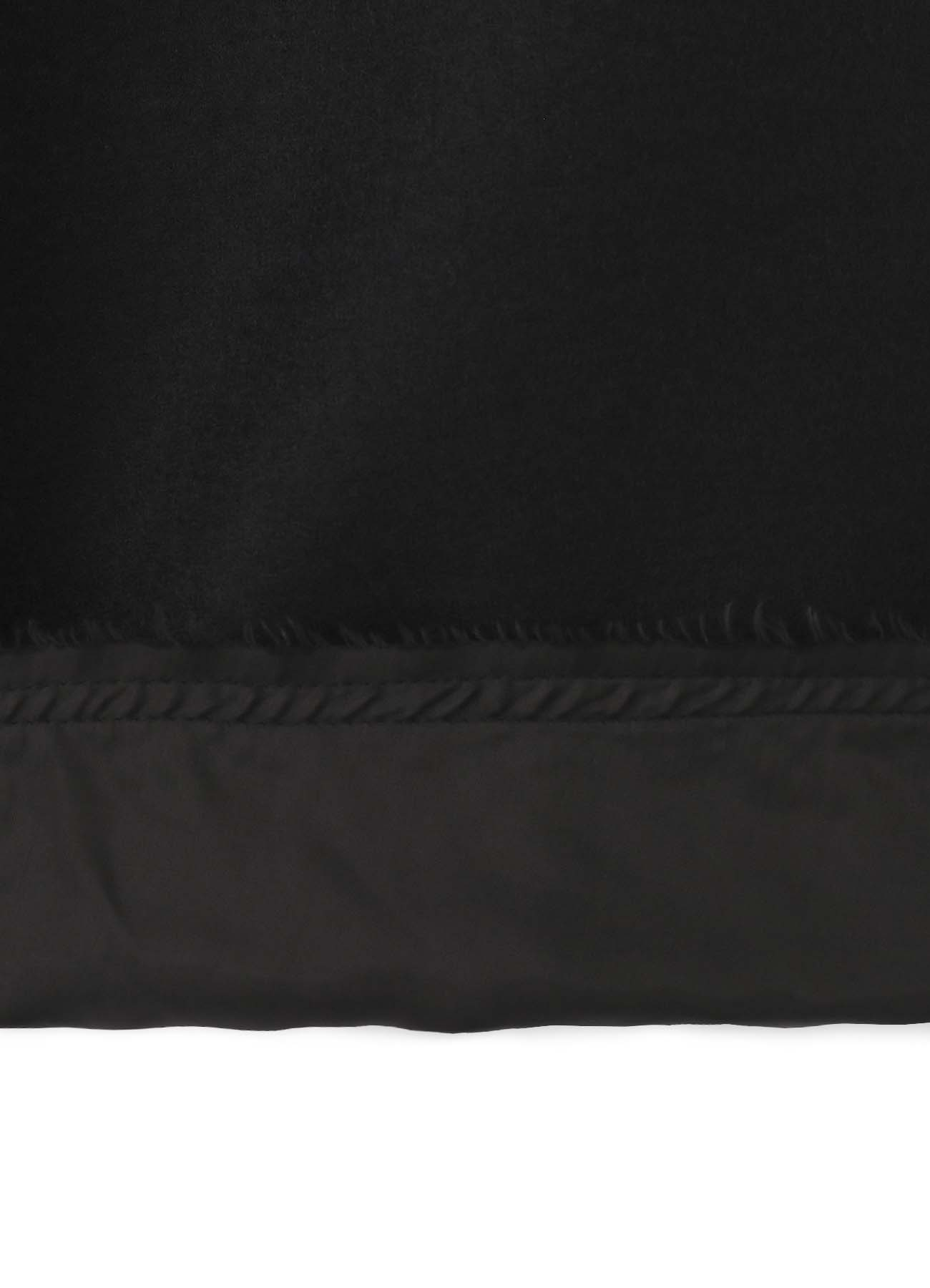 Compression Wool Snap Double Hood Coat