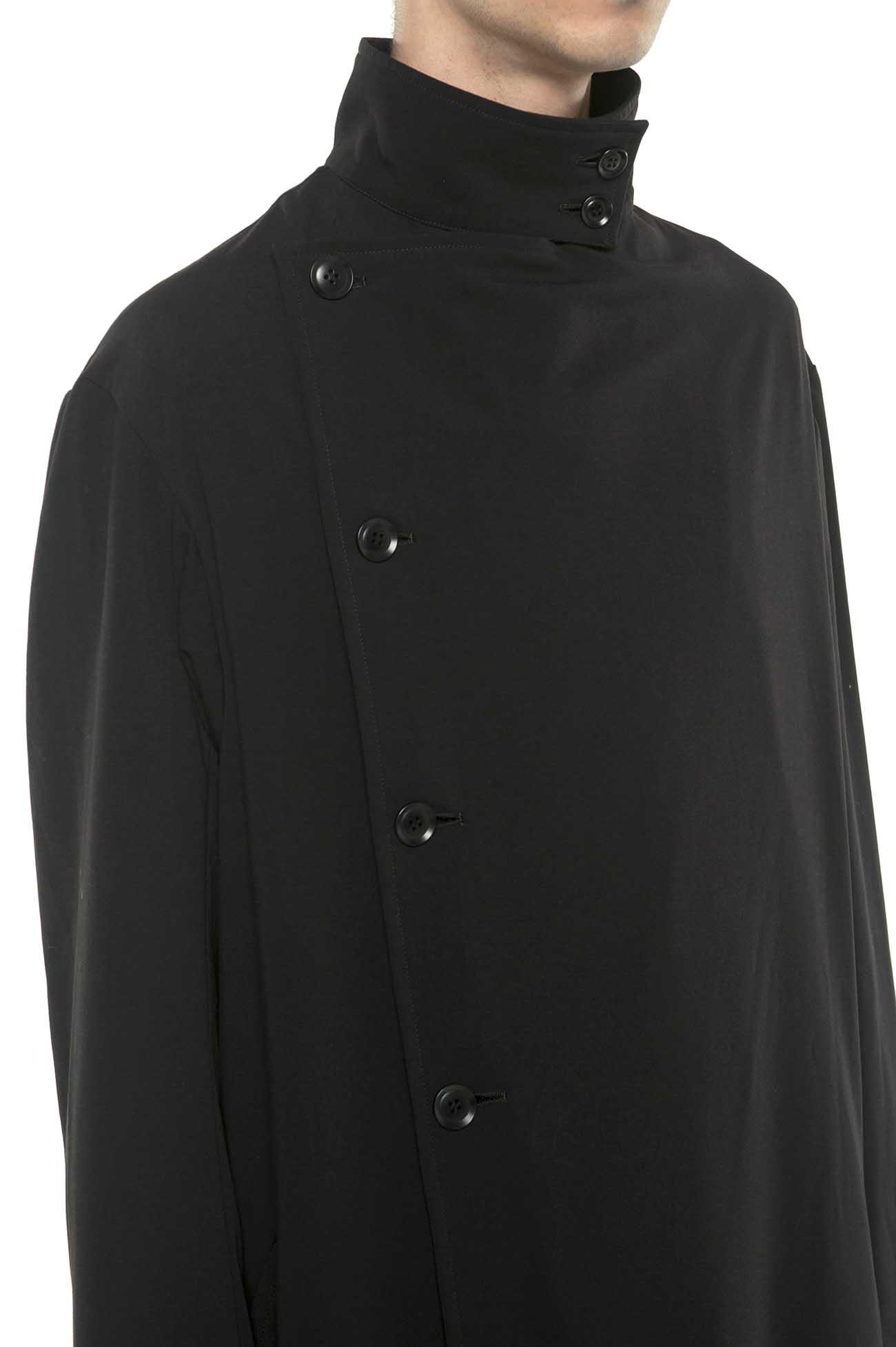 Pe/Rayon Gabardine Stretch Stand 5BW Trench Coat
